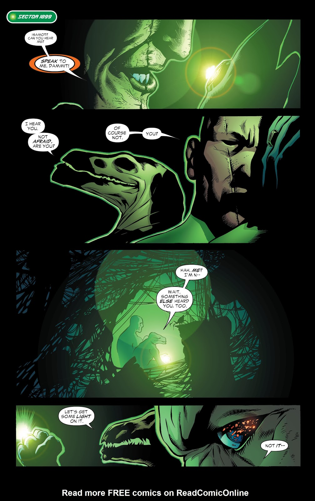 Read online Green Lantern by Geoff Johns comic -  Issue # TPB 1 (Part 3) - 27