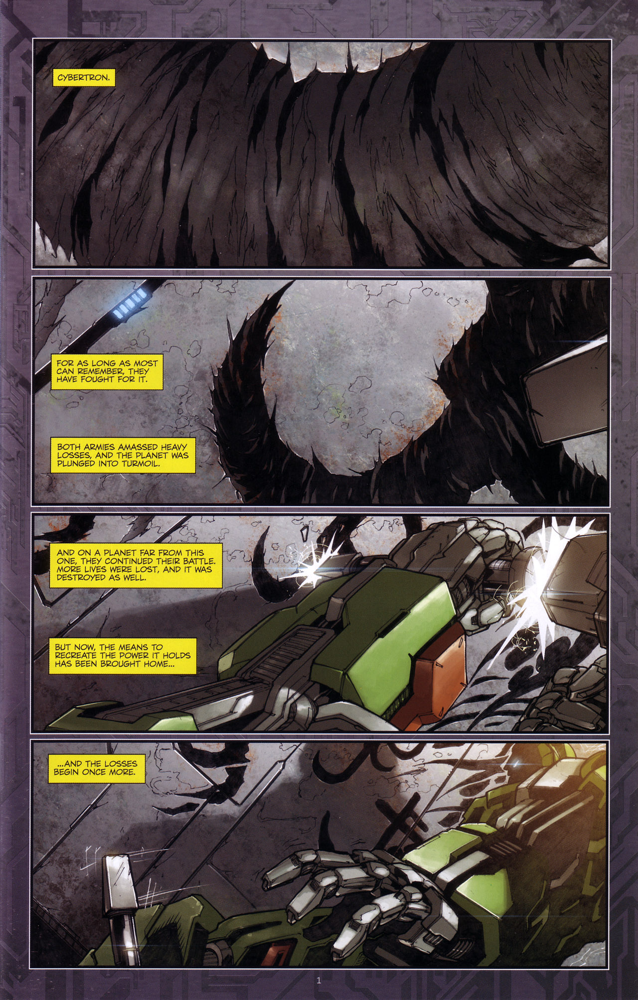 Read online Transformers: The Reign of Starscream comic -  Issue #4 - 3