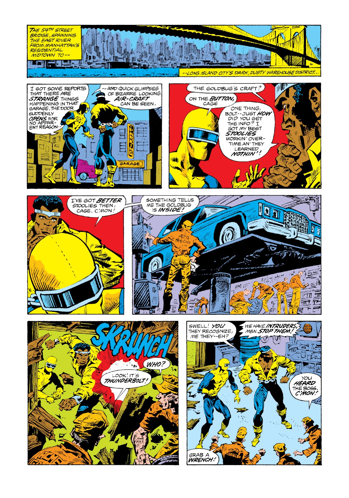 Read online Marvel Masterworks: Luke Cage, Power Man comic -  Issue # TPB 3 (Part 3) - 18