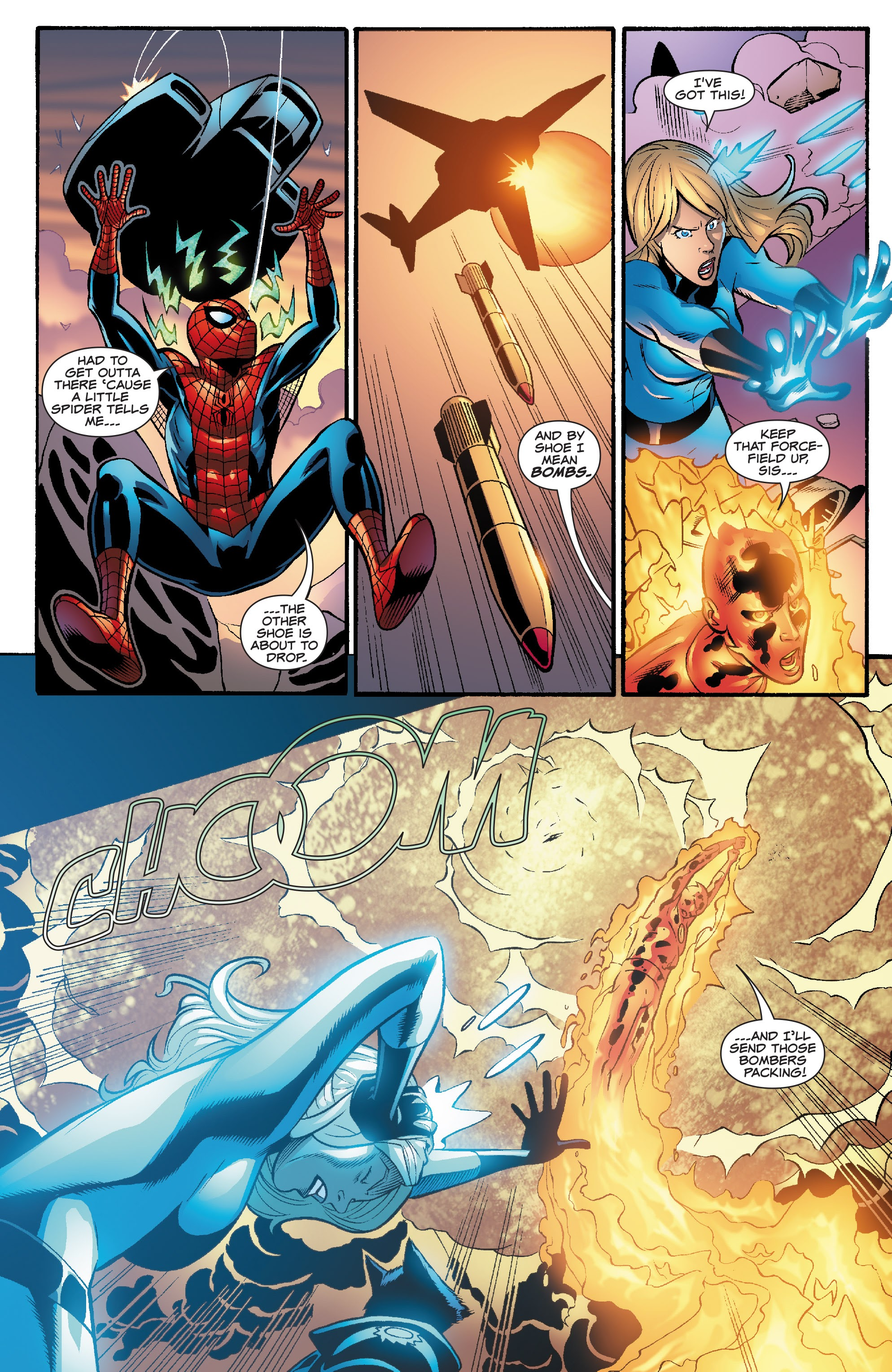 Spider-Man and the Fantastic Four issue 3 - Page 15