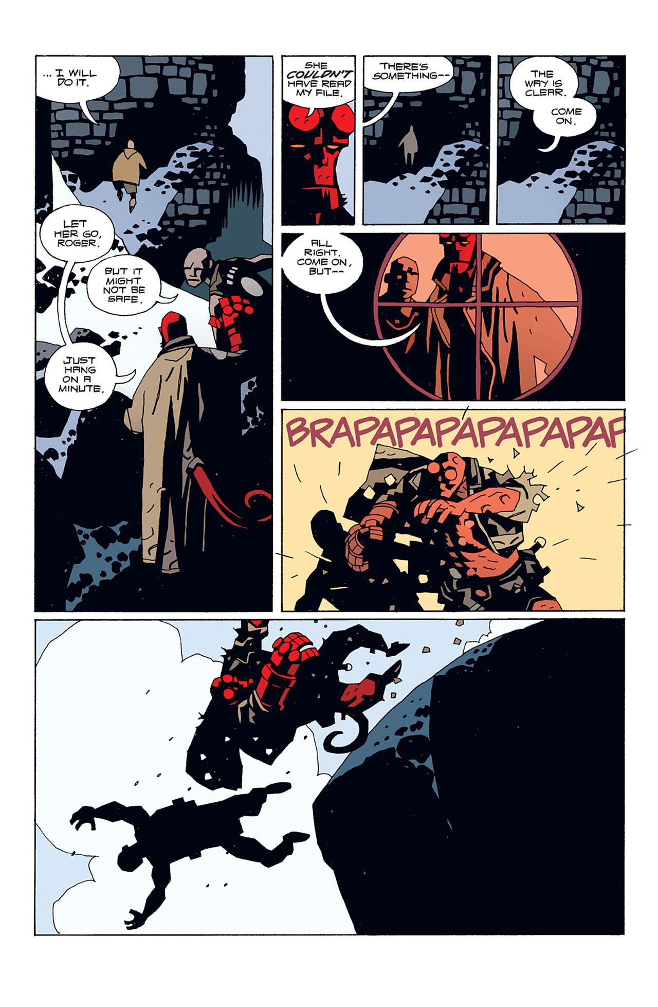 Read online Hellboy: Conqueror Worm comic -  Issue #1 - 25