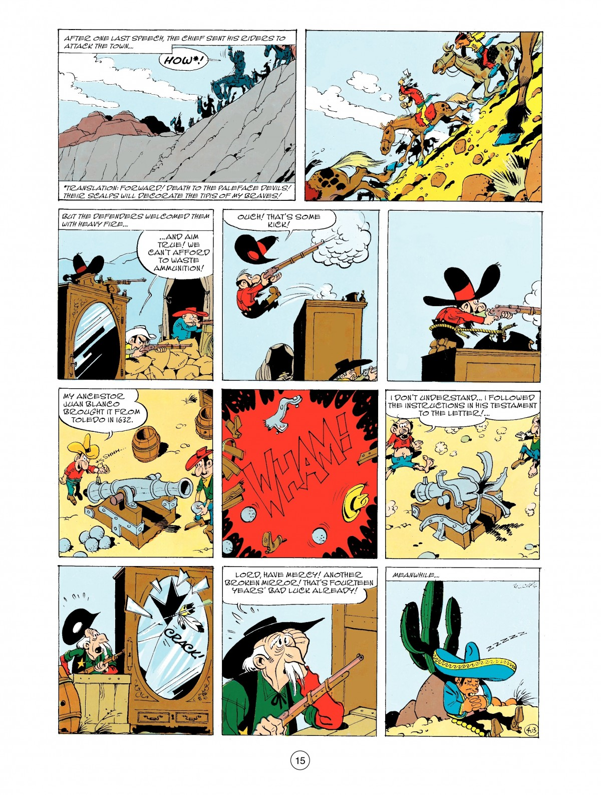 Read online A Lucky Luke Adventure comic -  Issue #43 - 15