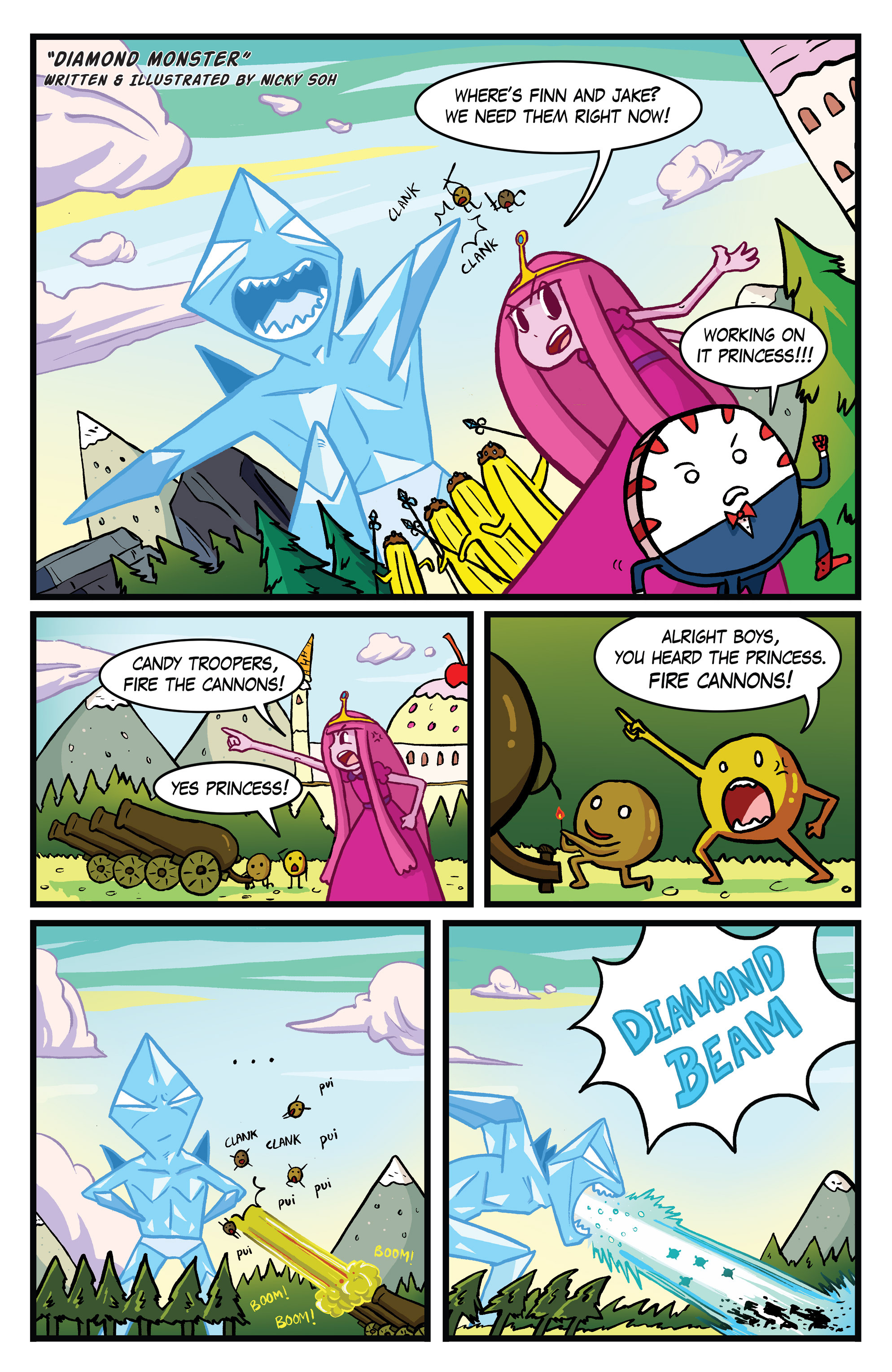 Read online Adventure Time Comics comic -  Issue #10 - 8
