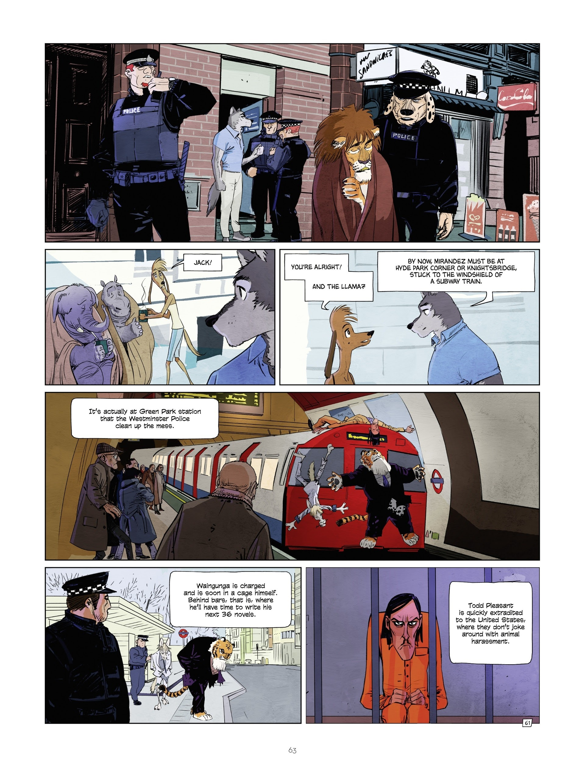 Read online Jack Wolfgang comic -  Issue #3 - 65