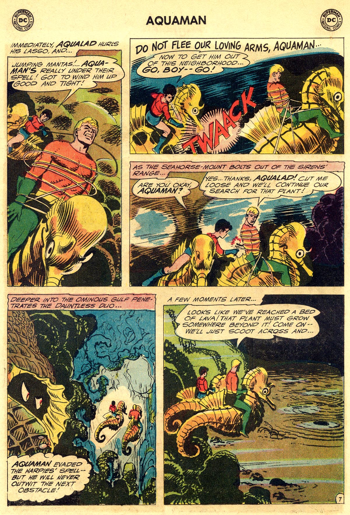 Read online Aquaman (1962) comic -  Issue #23 - 10