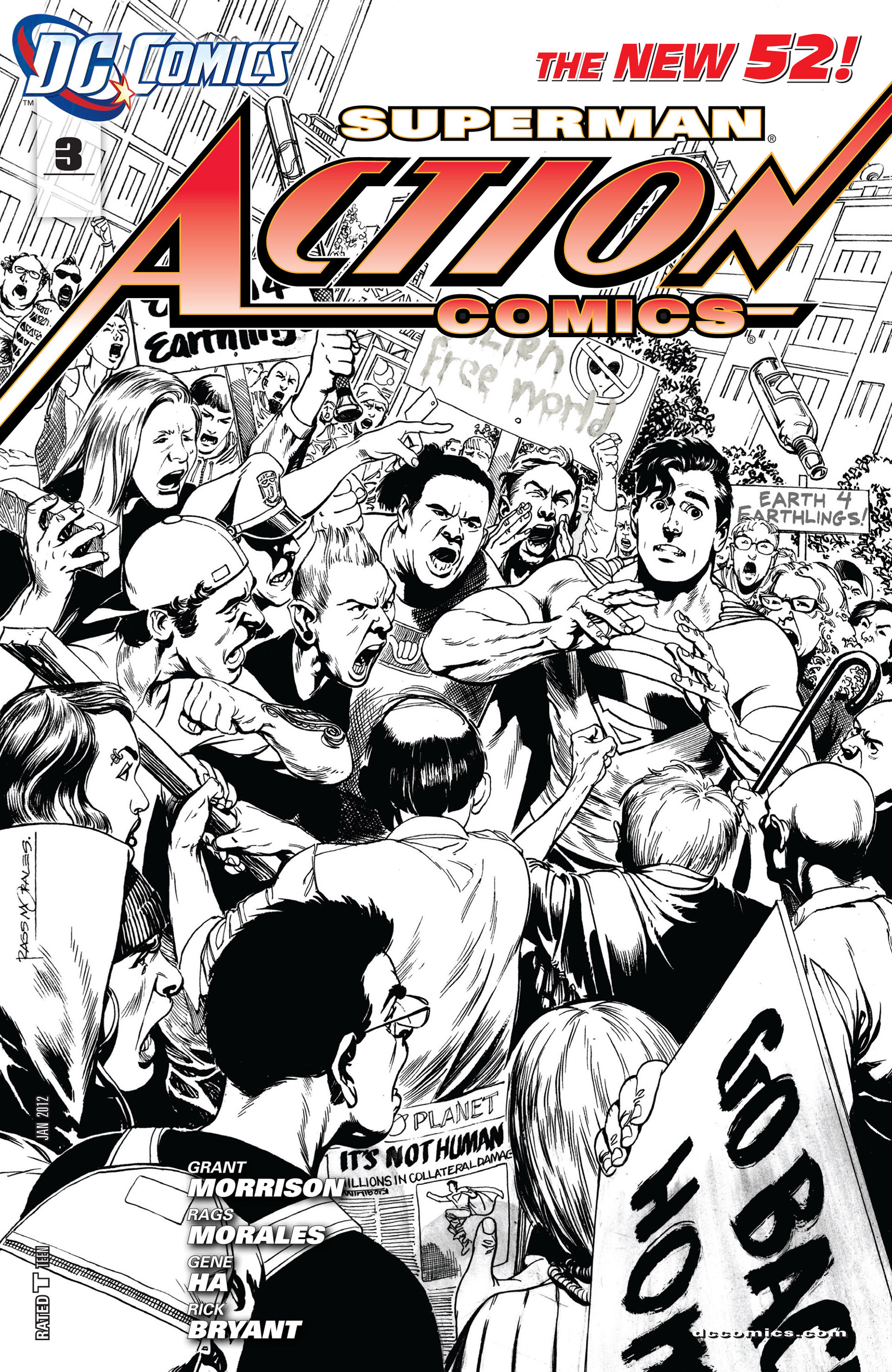 Read online Action Comics (2011) comic -  Issue #3 - 3