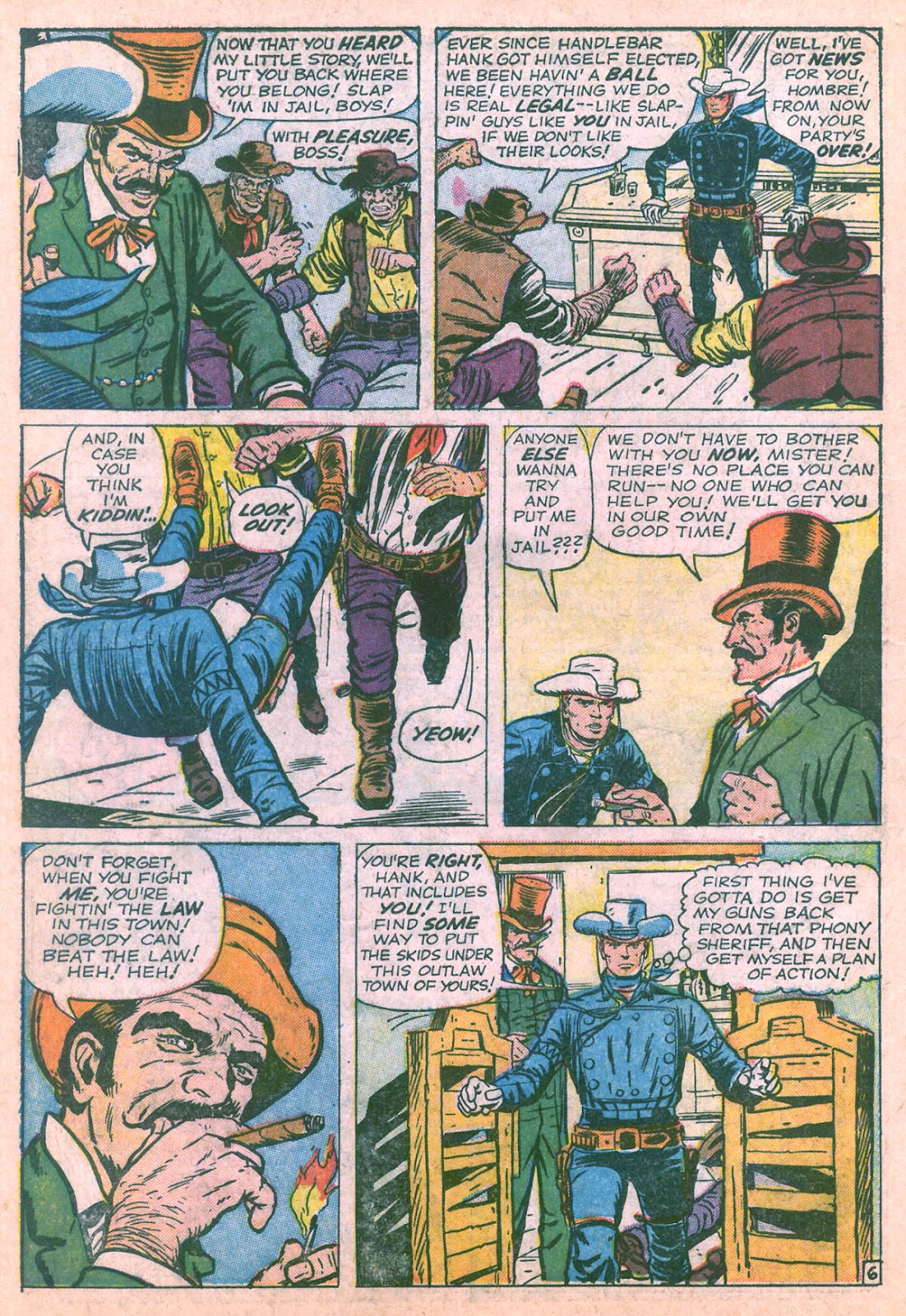 The Rawhide Kid (1955) issue 36 - Page 10