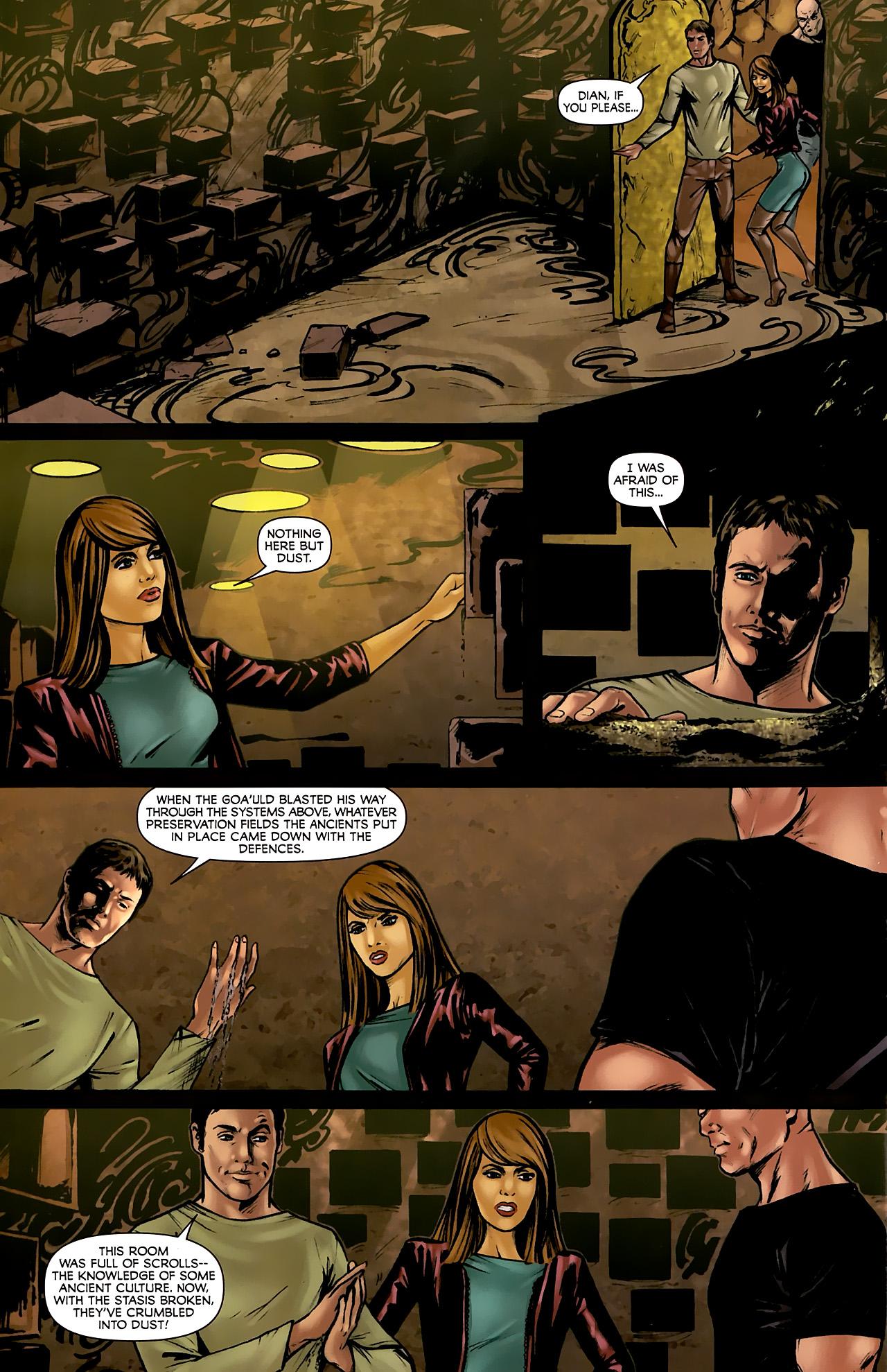 Read online Stargate: Daniel Jackson comic -  Issue #3 - 22