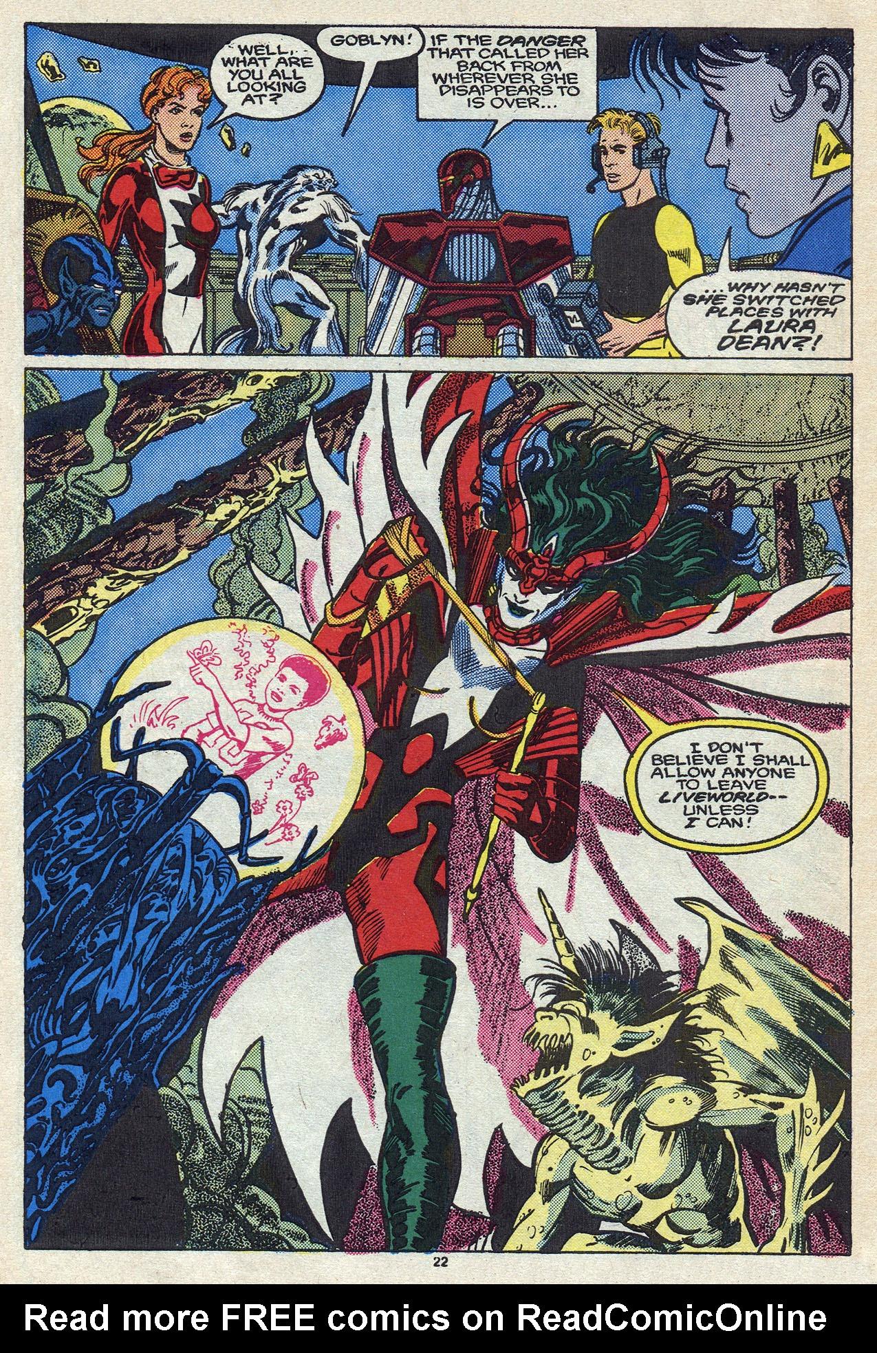 Read online Alpha Flight (1983) comic -  Issue #57 - 31