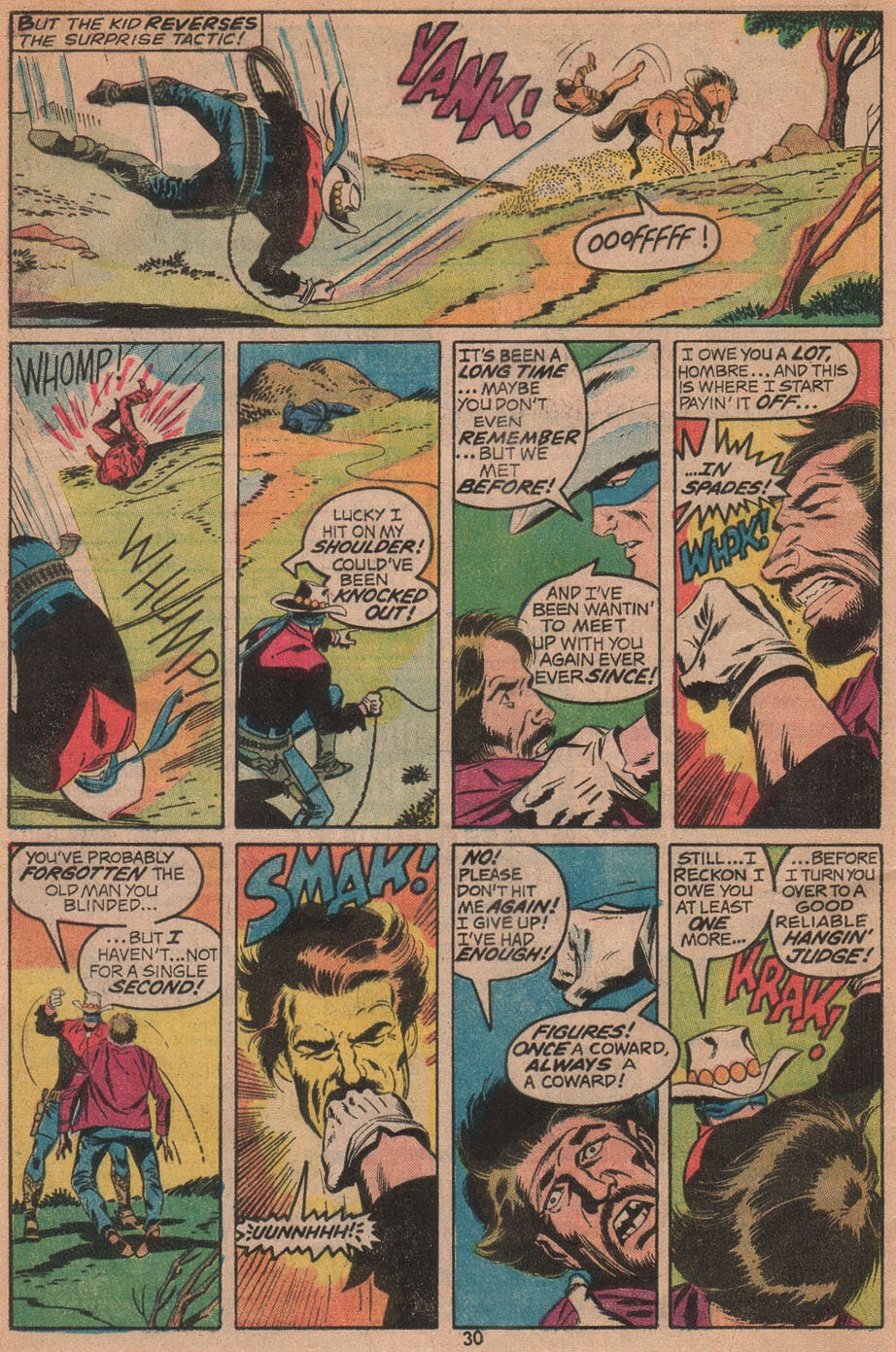 The Outlaw Kid (1970) issue 14 - Page 32