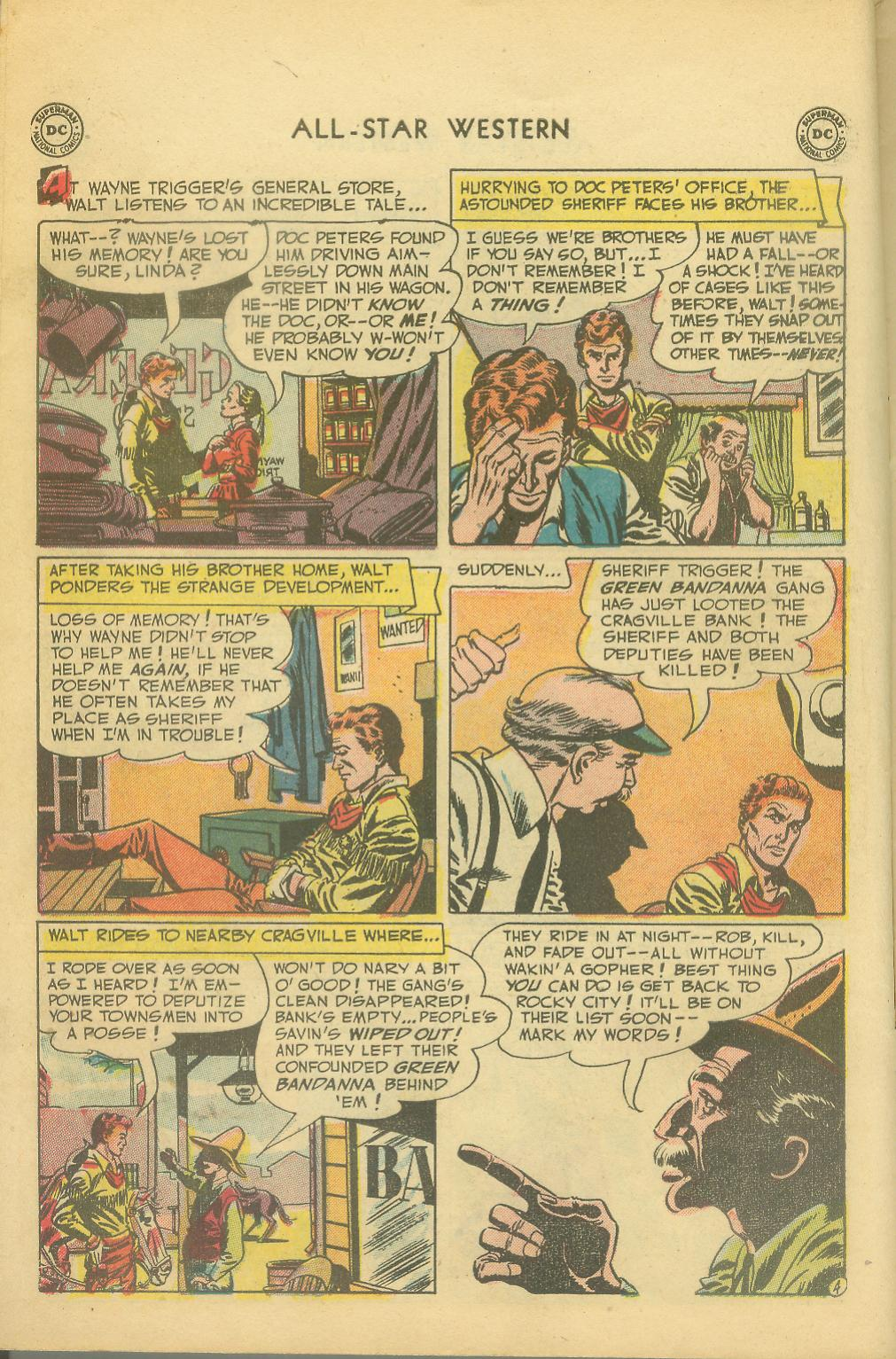 Read online All-Star Western (1951) comic -  Issue #65 - 6