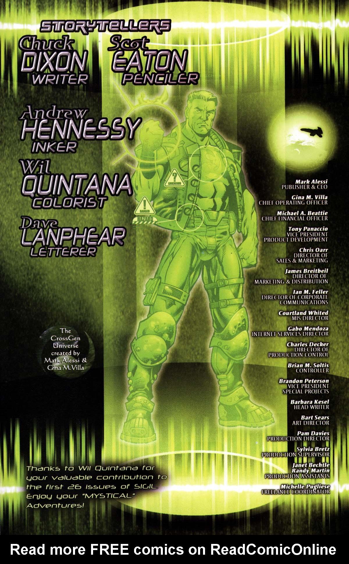 Read online Sigil (2000) comic -  Issue #26 - 35