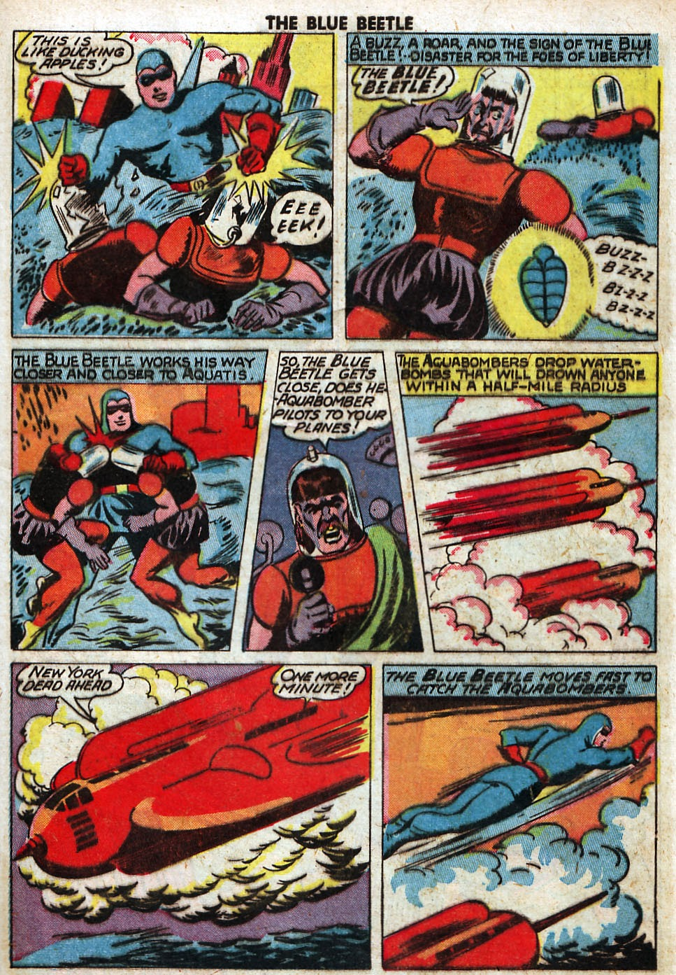 The Blue Beetle issue 33 - Page 43