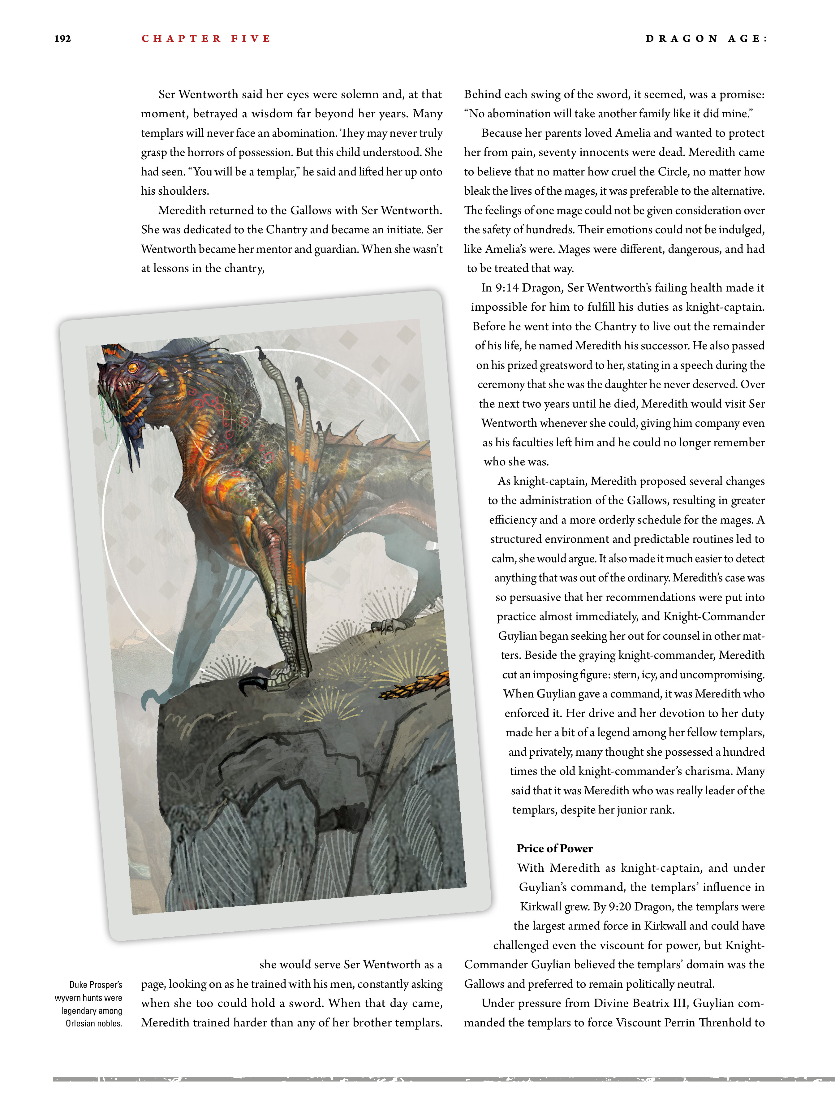 Read online Dragon Age: The World of Thedas comic -  Issue # TPB 2 - 187