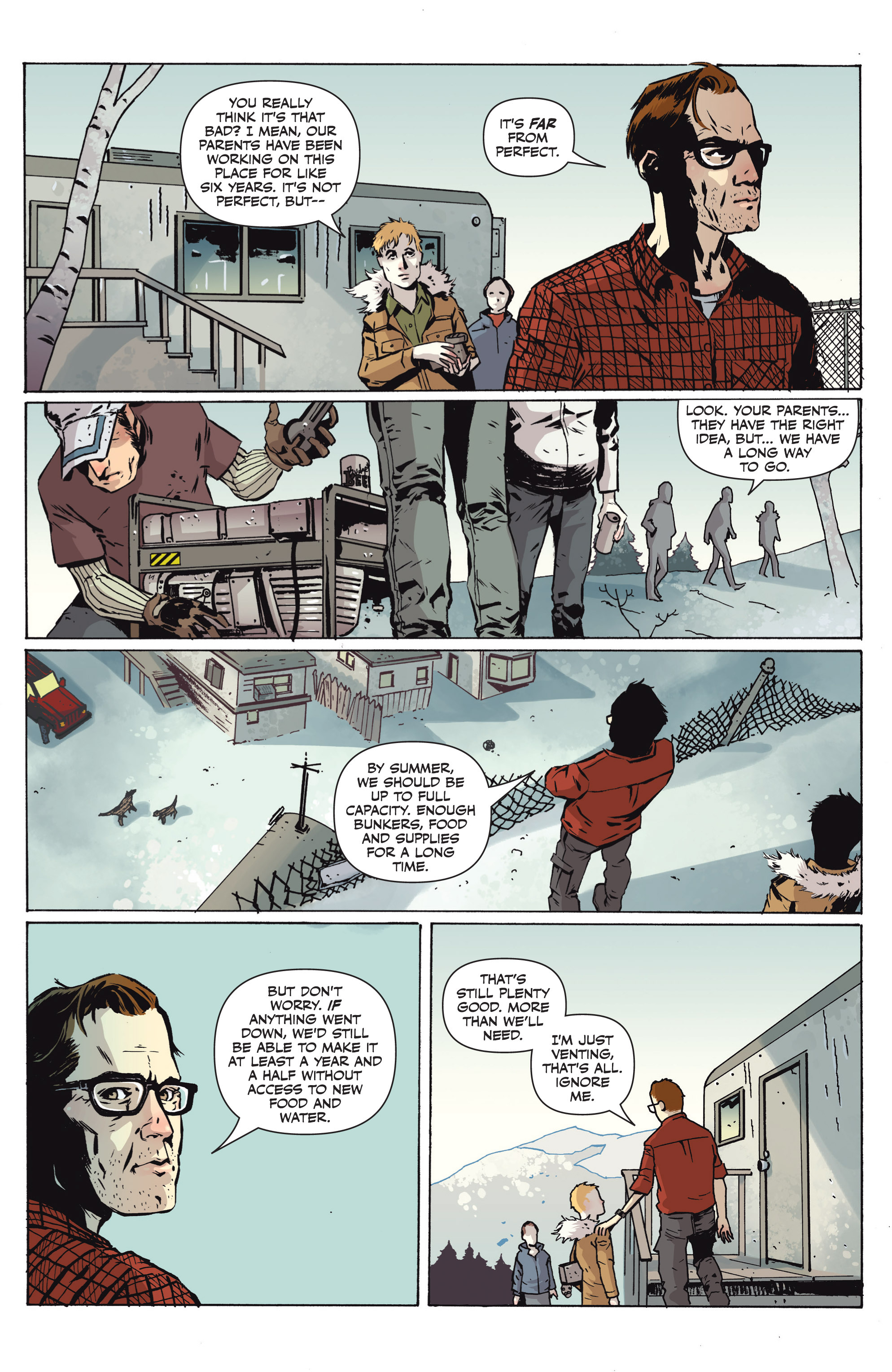 Read online Sheltered comic -  Issue #1 - 8