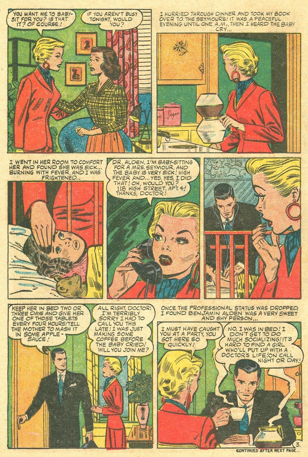 Love Romances (1949) issue 48 - Page 12