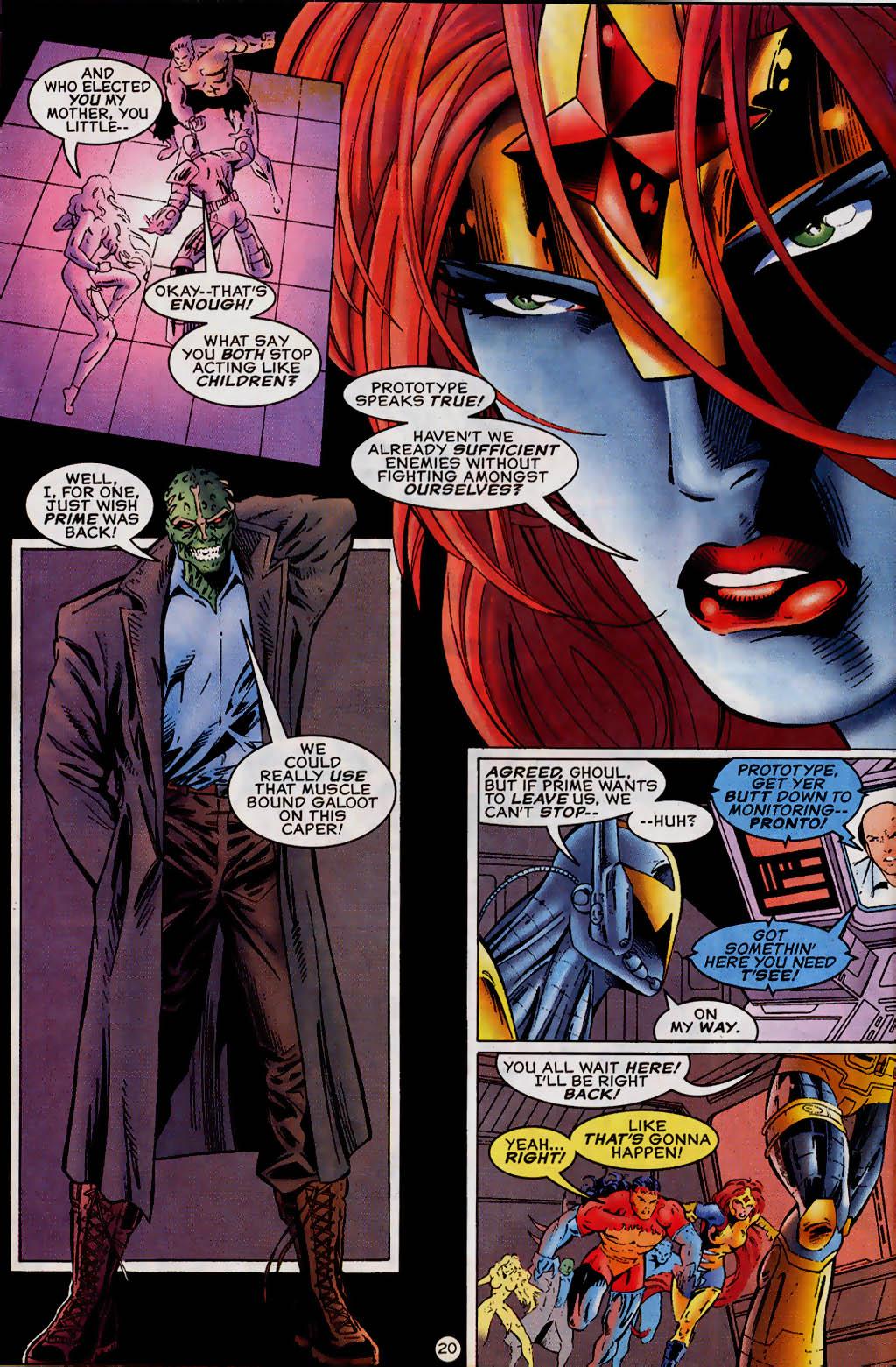 Read online UltraForce (1995) comic -  Issue #13 - 21