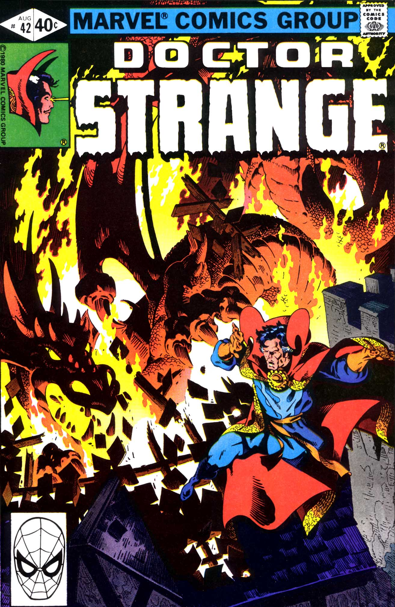 Doctor Strange (1974) 42 Page 1