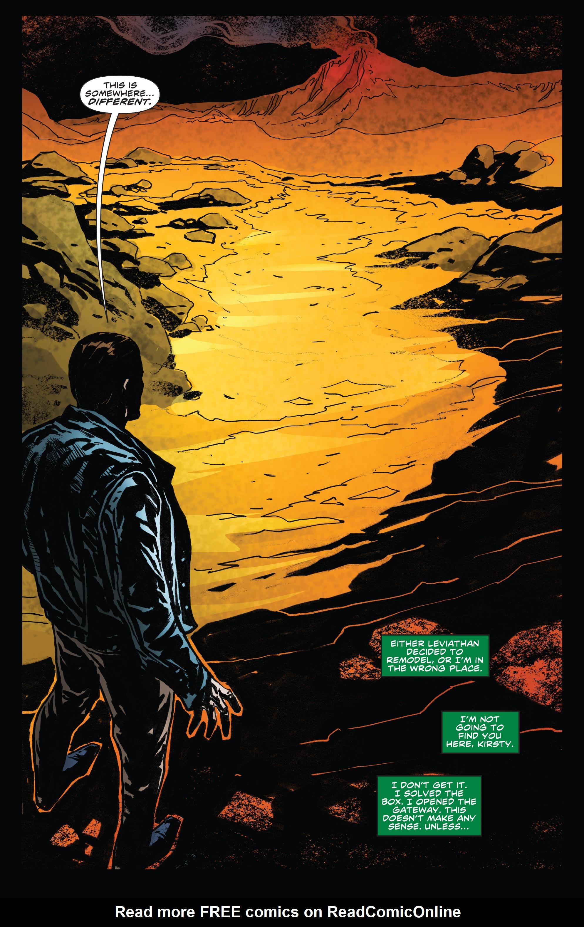 Read online Clive Barker's Hellraiser: The Dark Watch comic -  Issue # TPB 3 - 24