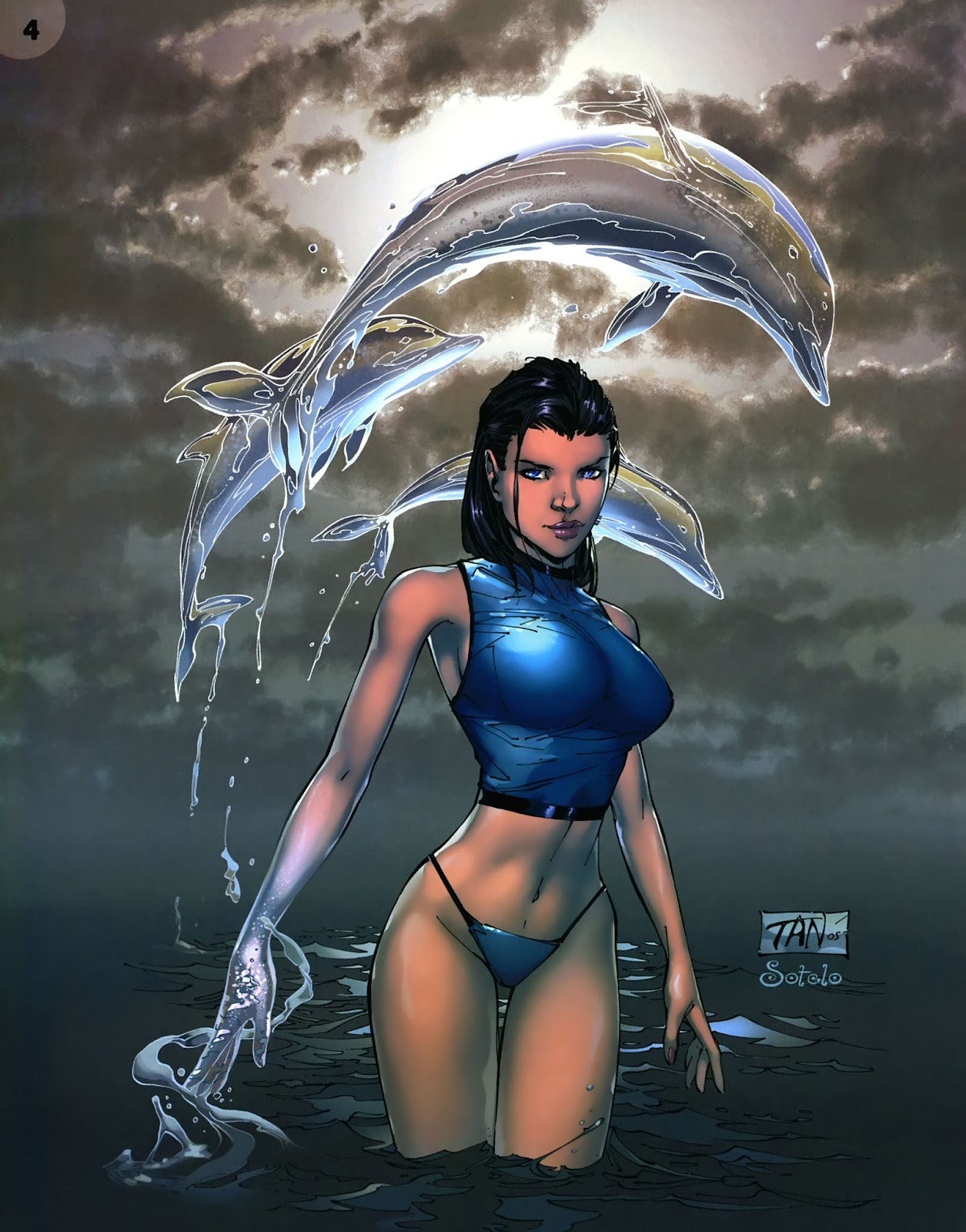 Read online Aspen Splash: Swimsuit Spectacular comic -  Issue # Issue 2006 - 6