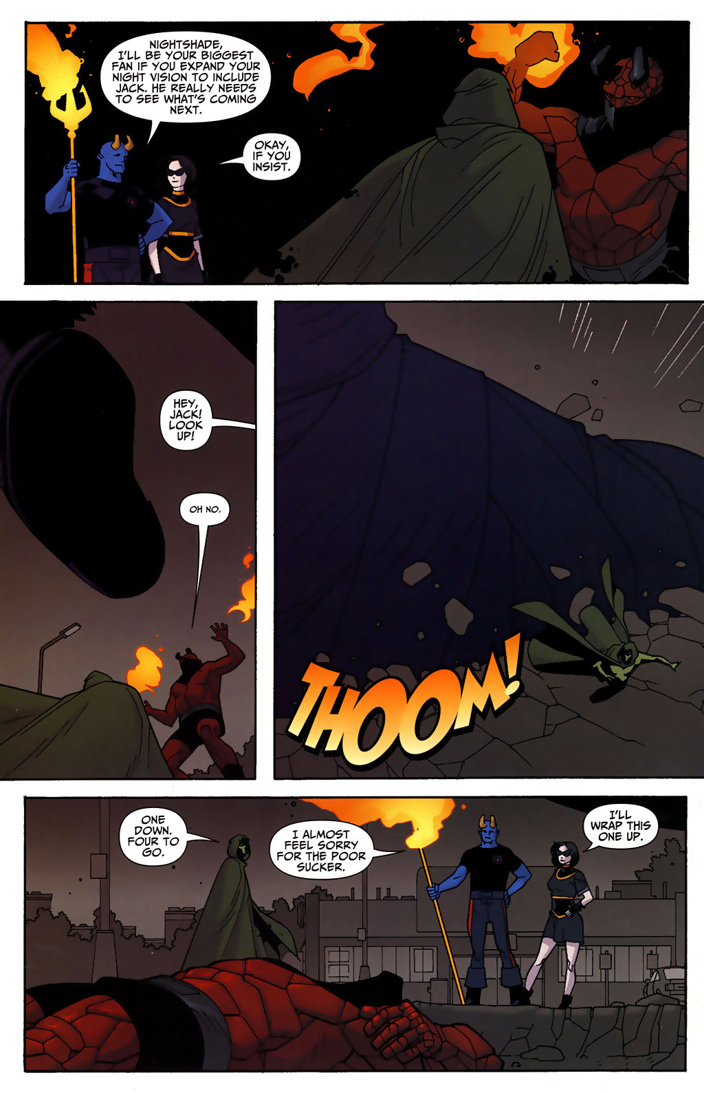 Read online Shadowpact comic -  Issue #3 - 18