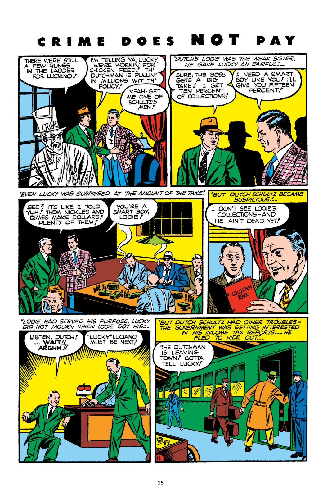 Read online Crime Does Not Pay Archives comic -  Issue # TPB 2 (Part 1) - 25