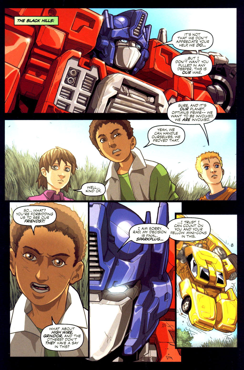 Read online Transformers Armada comic -  Issue #6 - 12