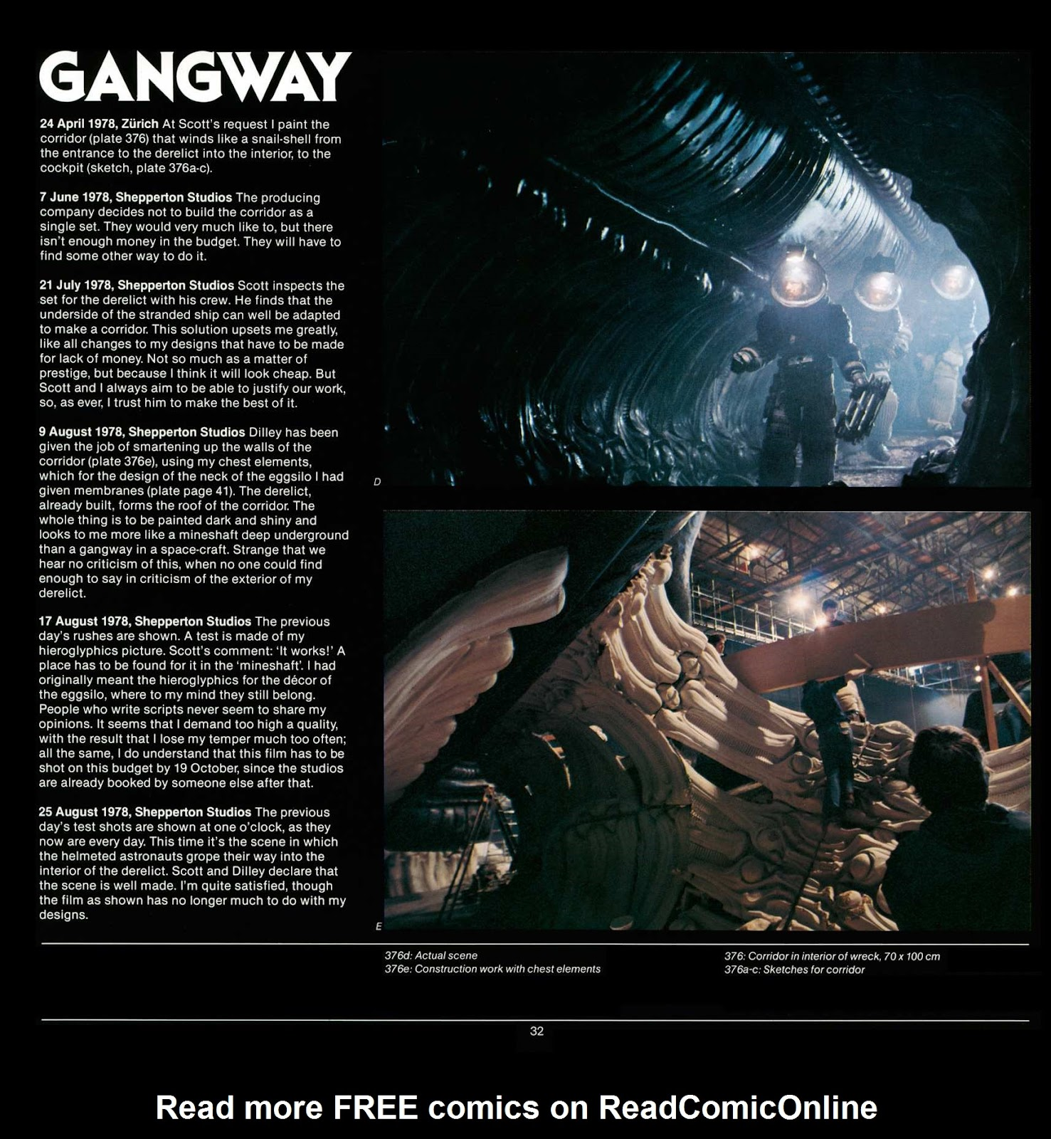 Read online Giger's Alien comic -  Issue # TPB - 34