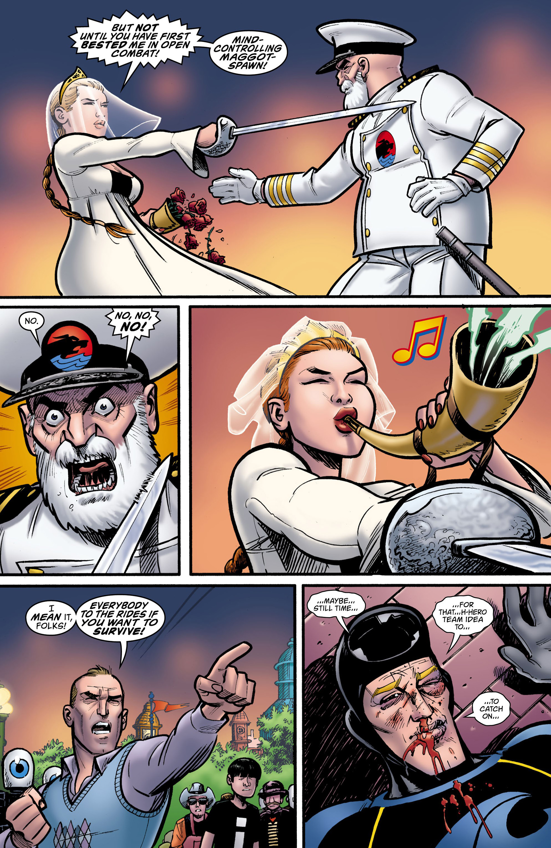 Read online Seaguy: The Slaves of Mickey Eye comic -  Issue #3 - 19