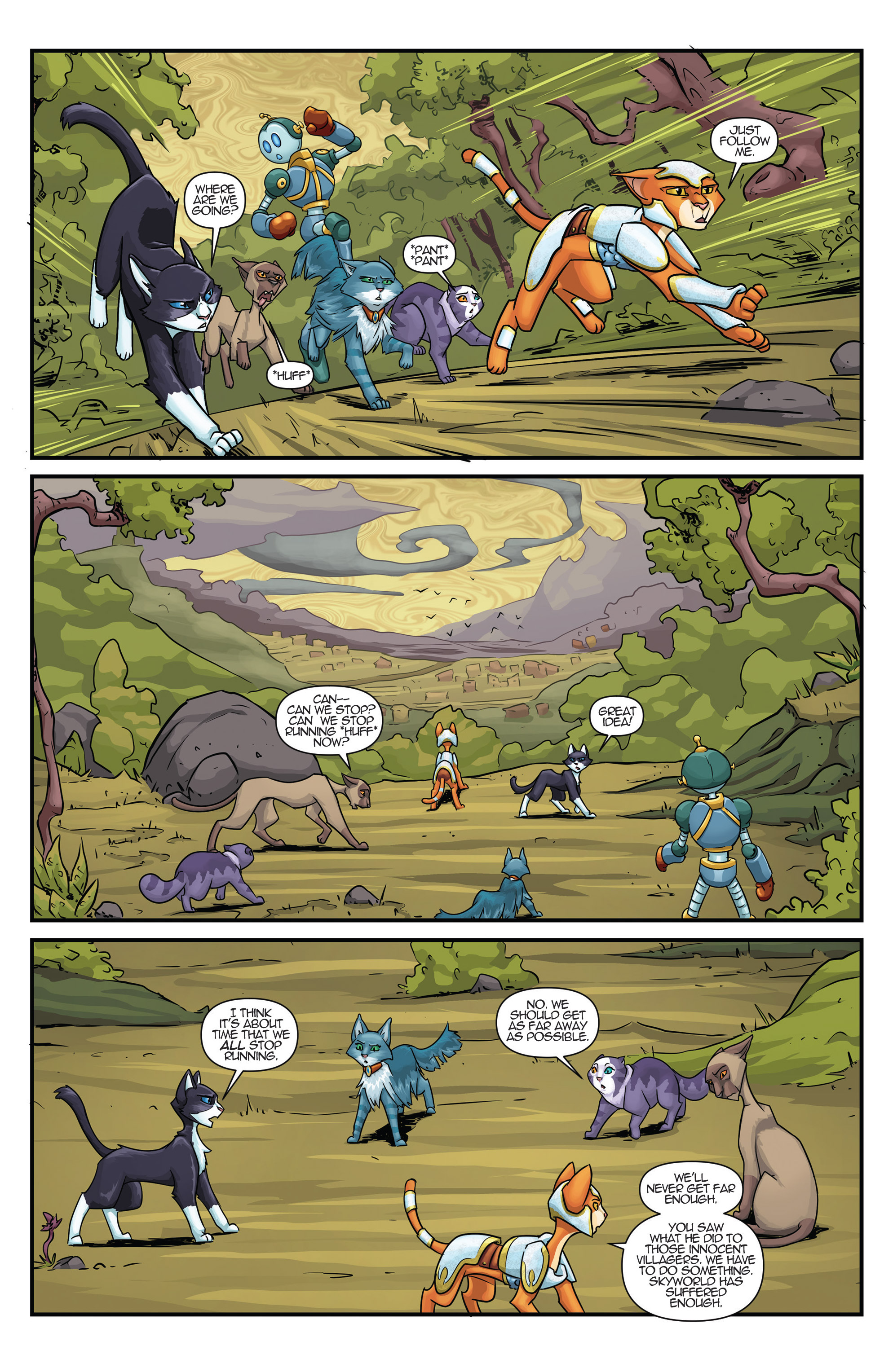 Read online Hero Cats comic -  Issue #17 - 19