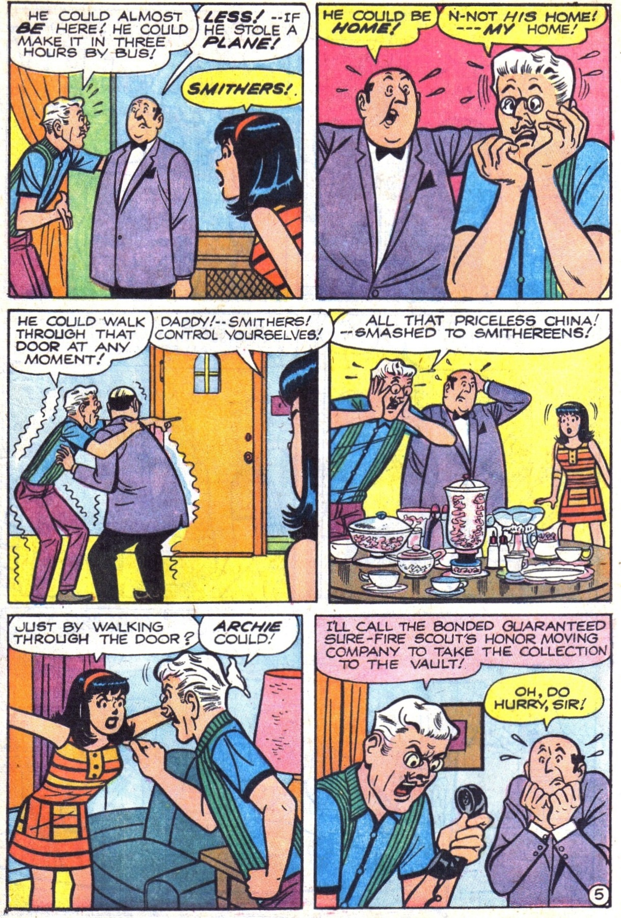 Read online Archie (1960) comic -  Issue #177 - 17