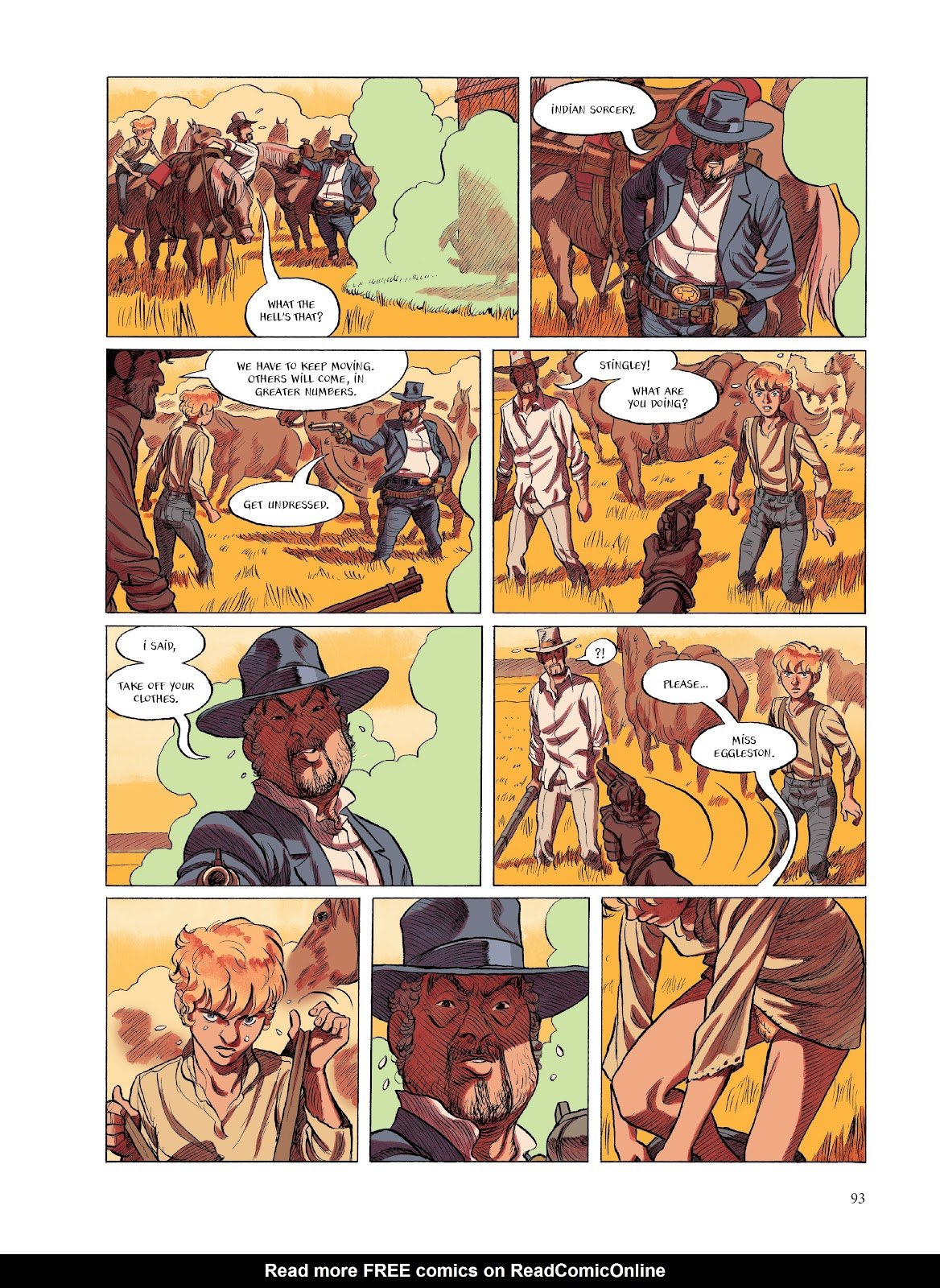 Read online The Smell of Starving Boys comic -  Issue # TPB - 94