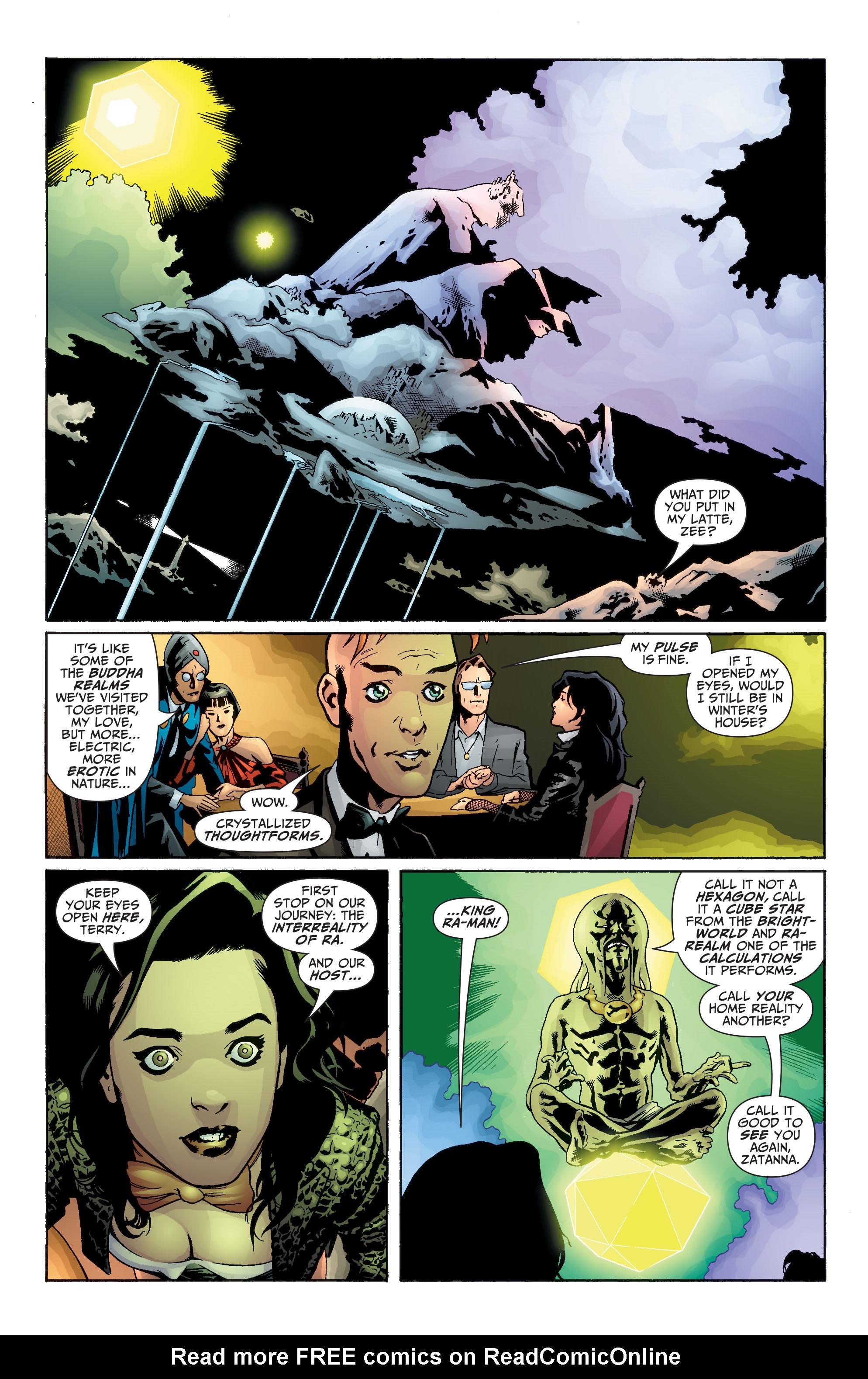 Read online Seven Soldiers: Zatanna comic -  Issue #1 - 9