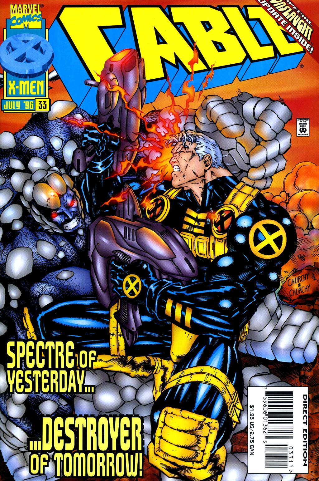 Cable (1993) 33 Page 1