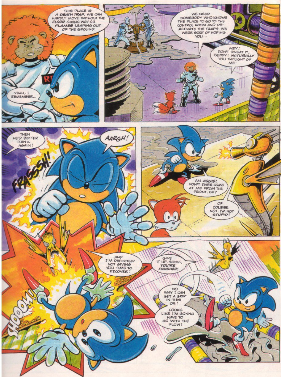 Read online Sonic the Comic comic -  Issue #7 - 5