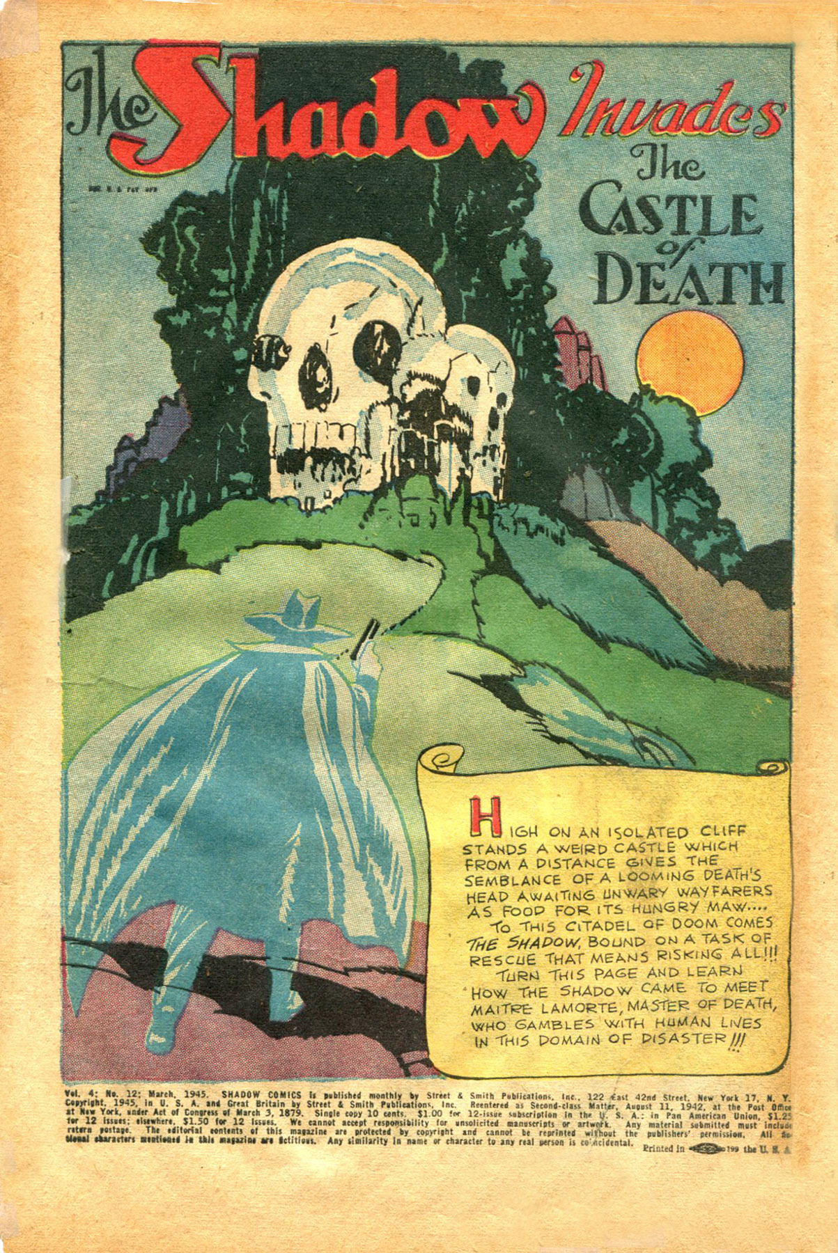 Read online Shadow Comics comic -  Issue #48 - 3