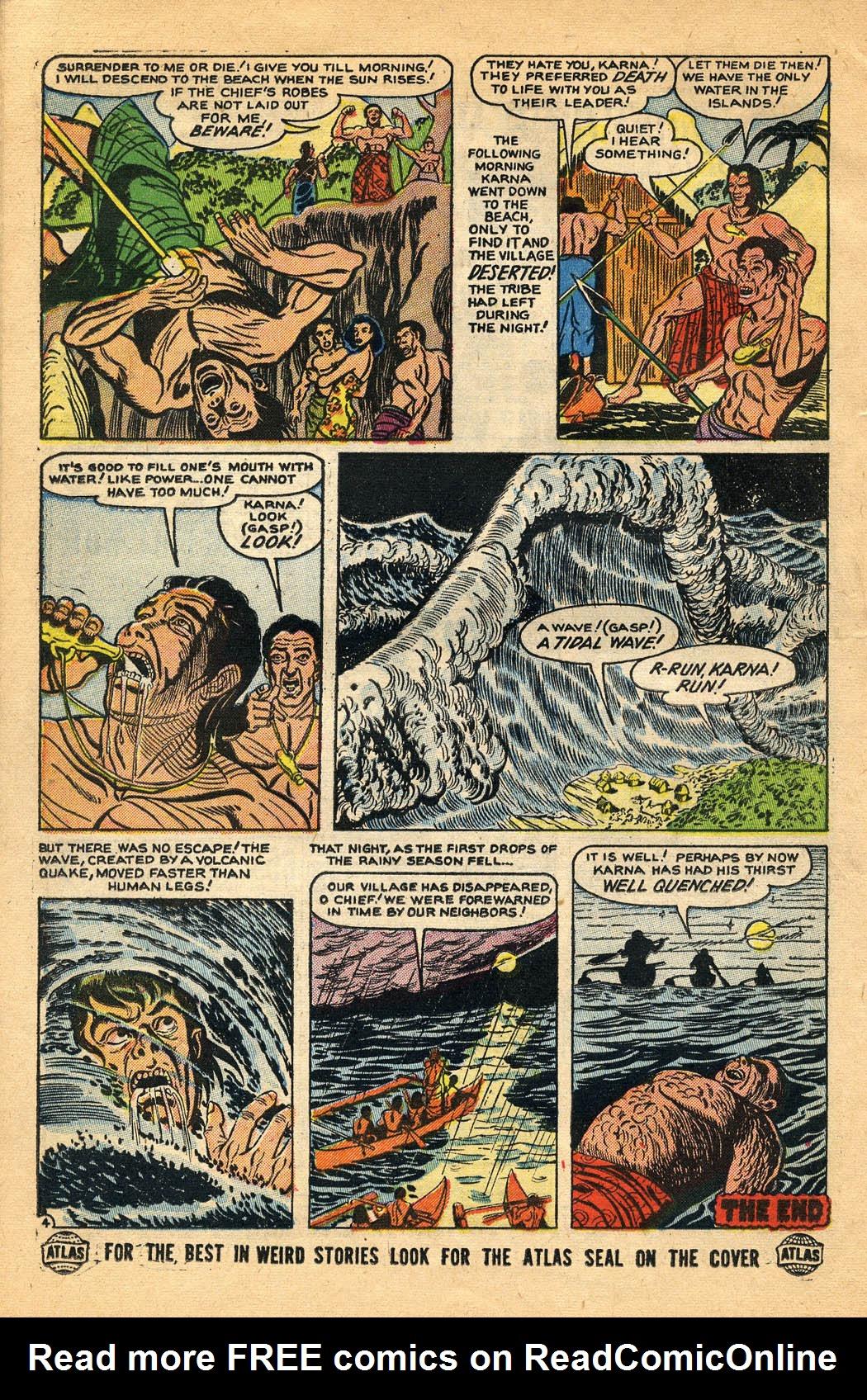 Read online Adventures into Weird Worlds comic -  Issue #29 - 26