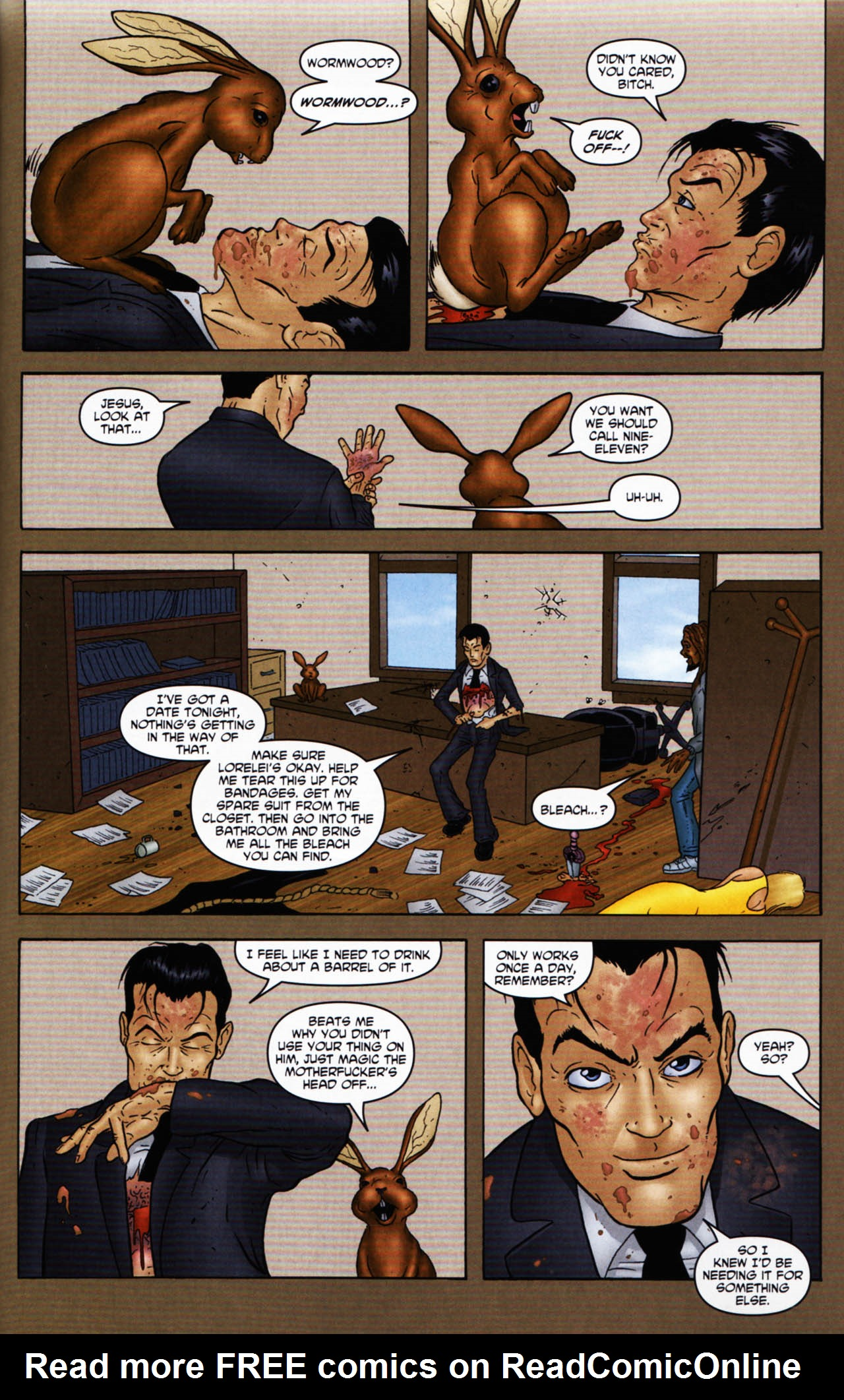 Read online Chronicles of Wormwood: The Last Enemy comic -  Issue # Full - 37
