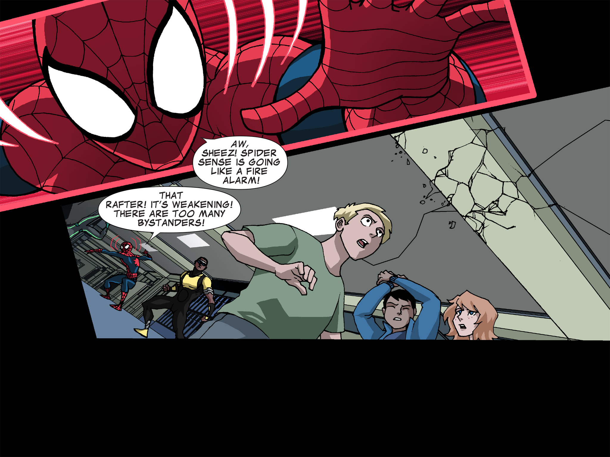 Read online Ultimate Spider-Man (Infinite Comics) (2015) comic -  Issue #23 - 10