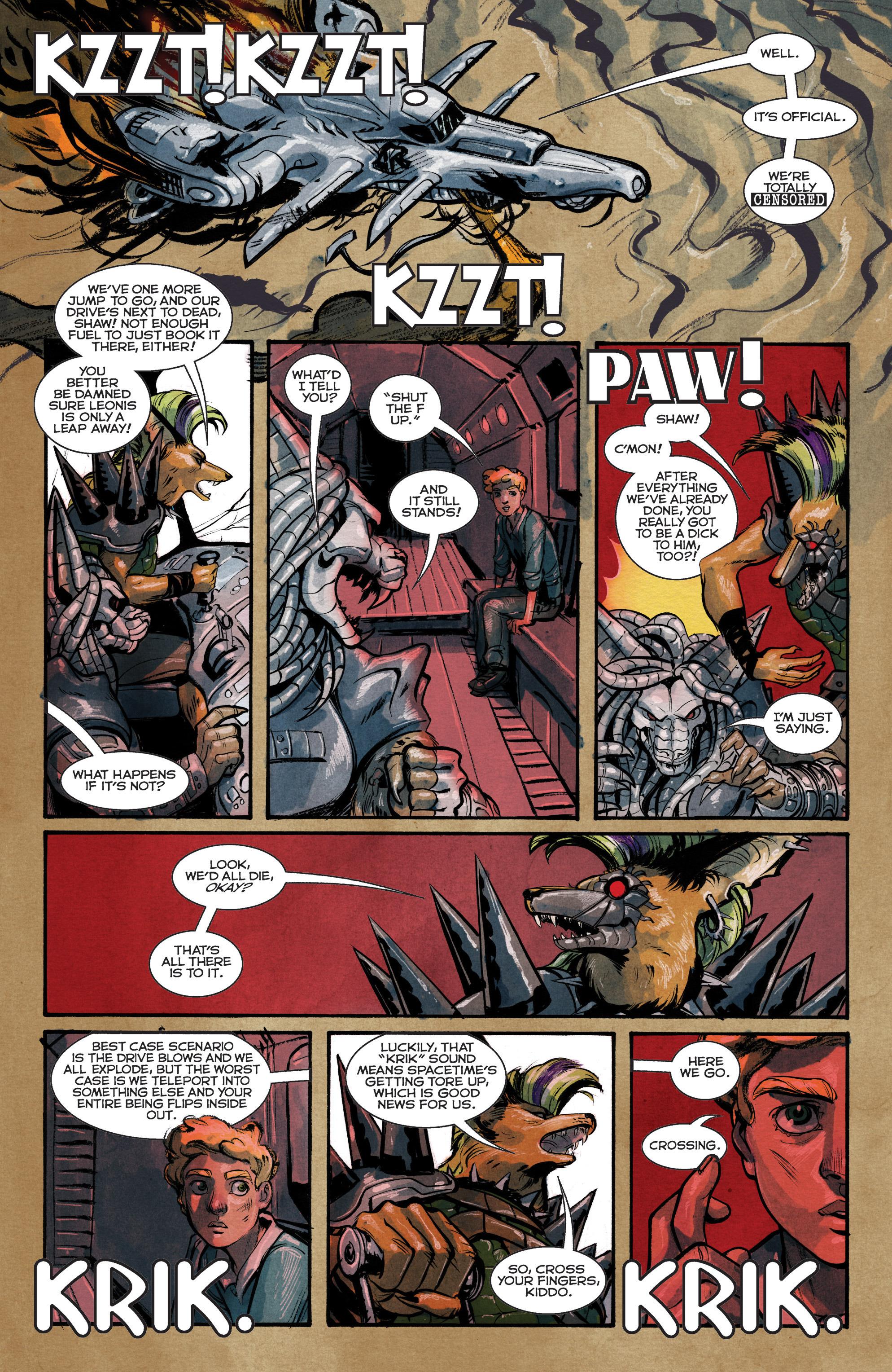 Read online Shutter comic -  Issue #15 - 8