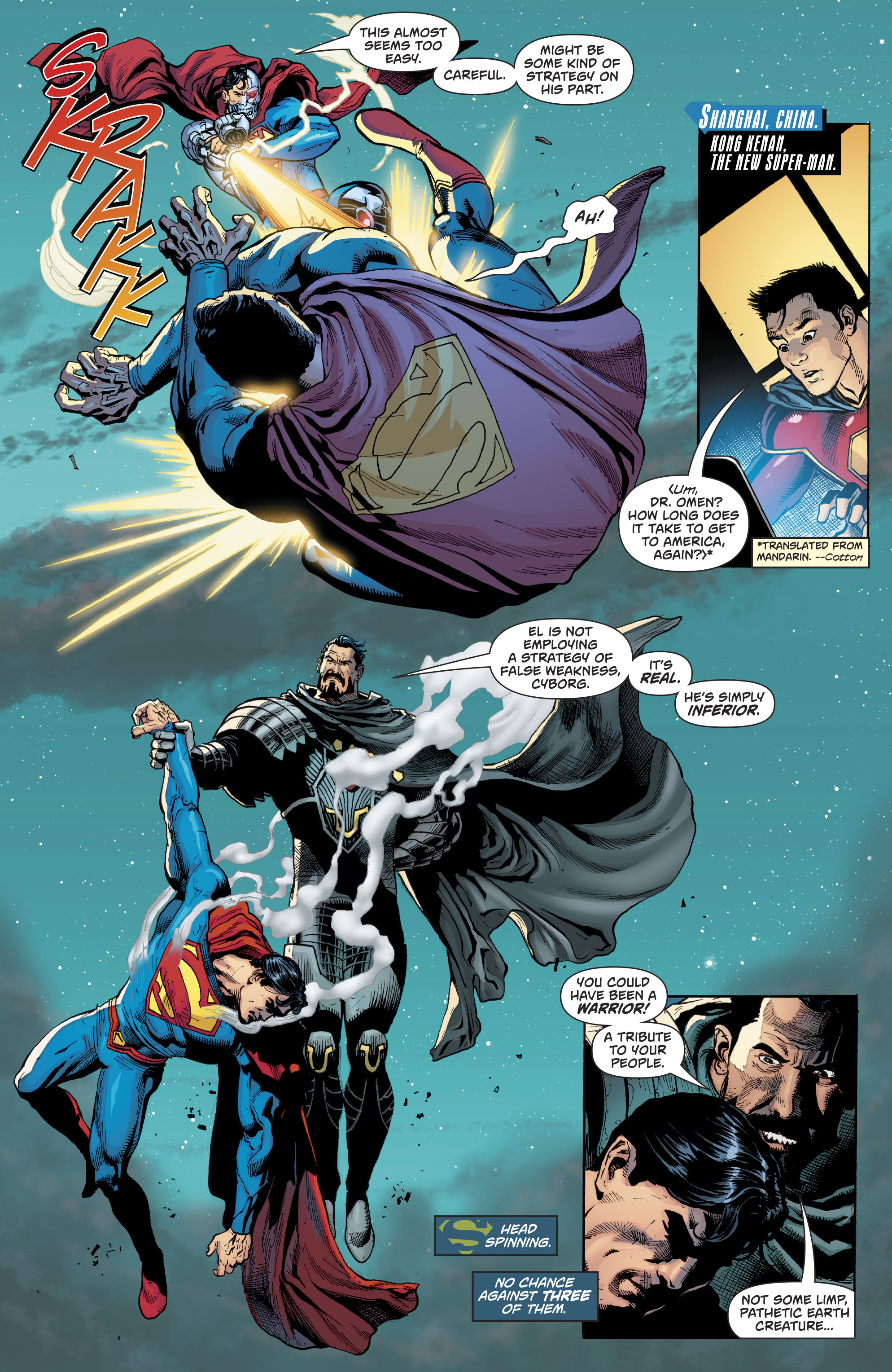 Read online Action Comics (2016) comic -  Issue #981 - 17