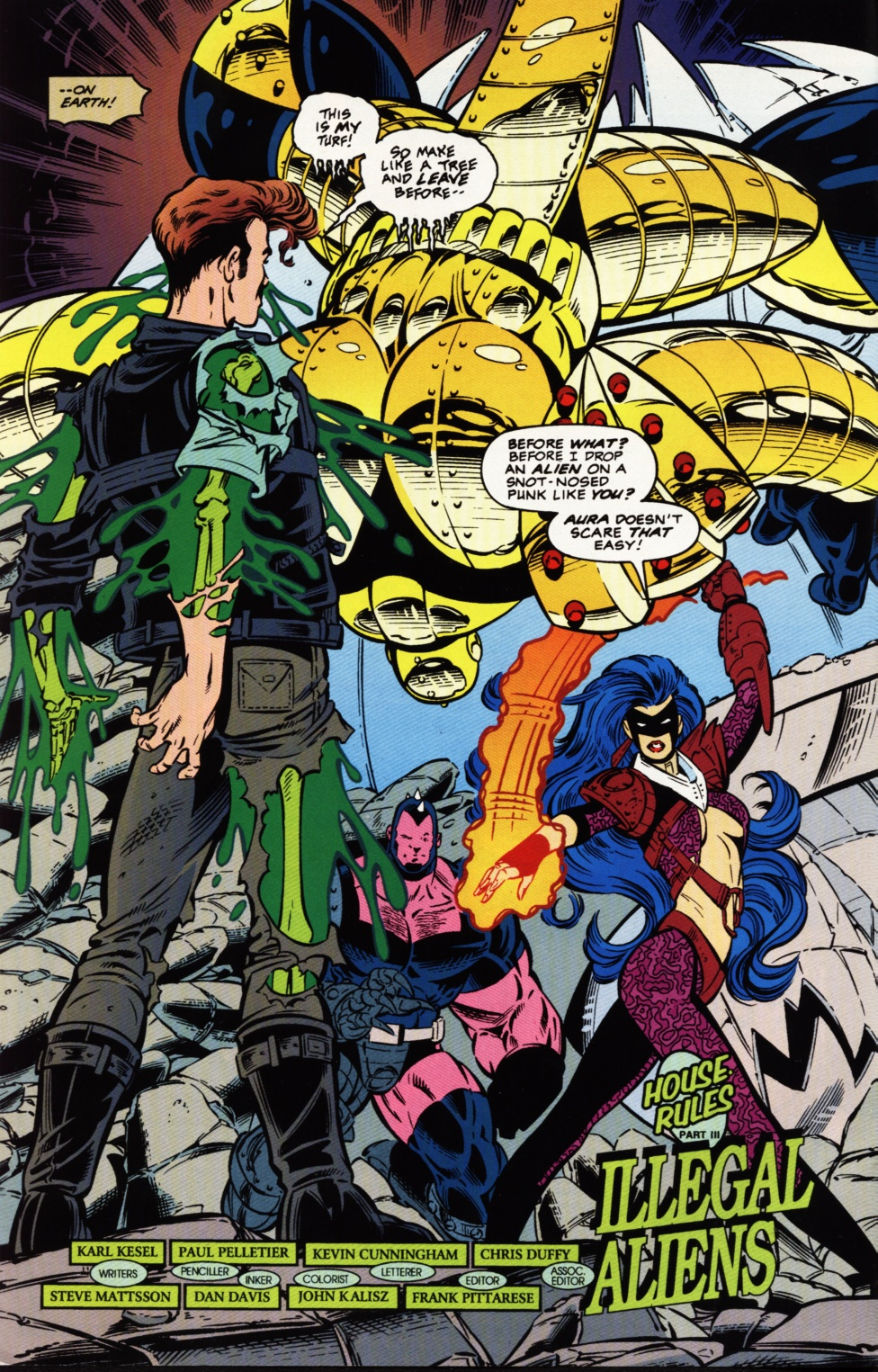 Read online Superboy & The Ravers comic -  Issue #3 - 3