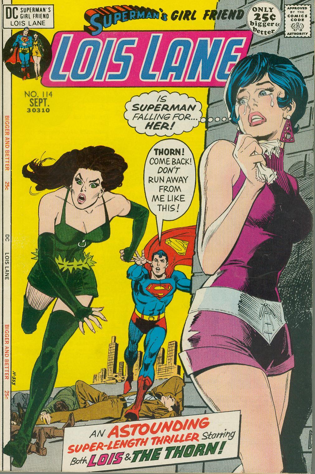Supermans Girl Friend, Lois Lane 114 Page 1