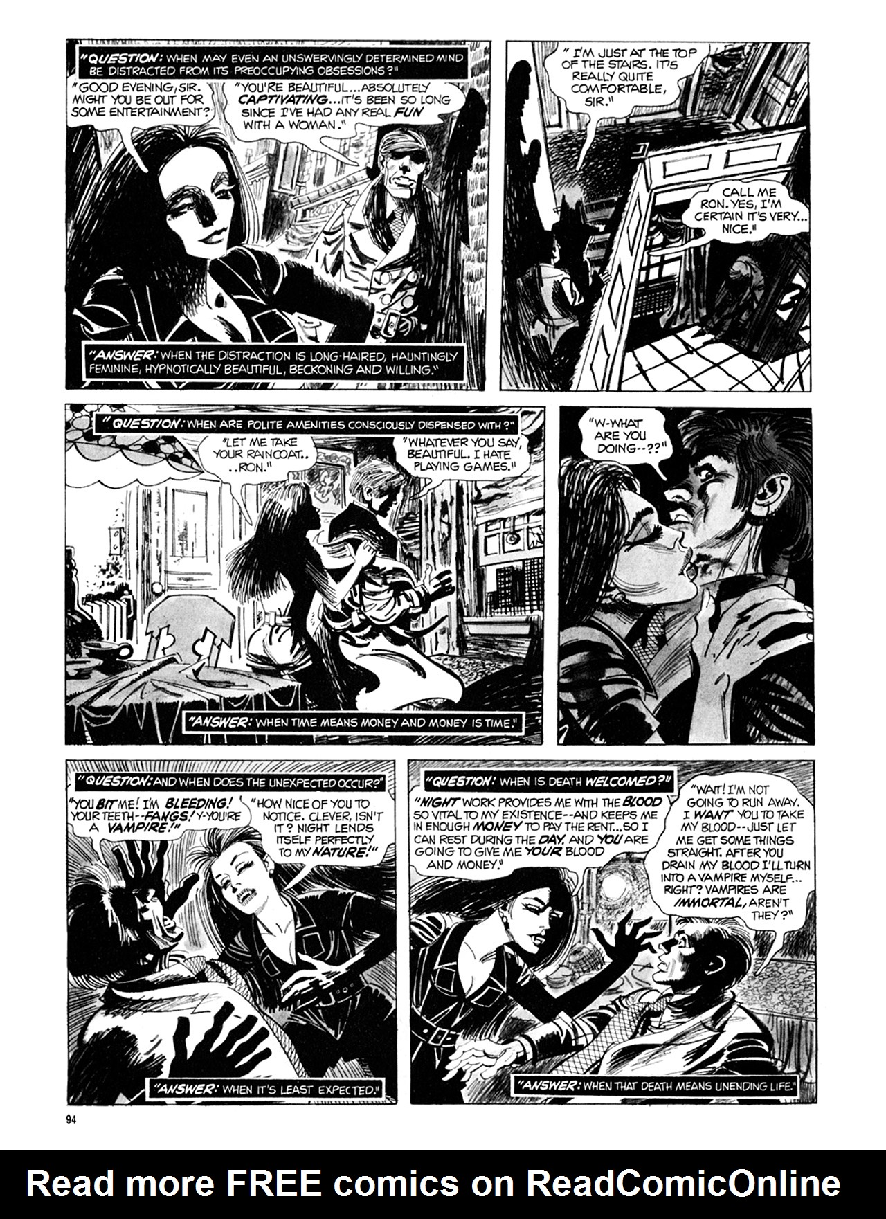 Read online Eerie Archives comic -  Issue # TPB 9 - 95