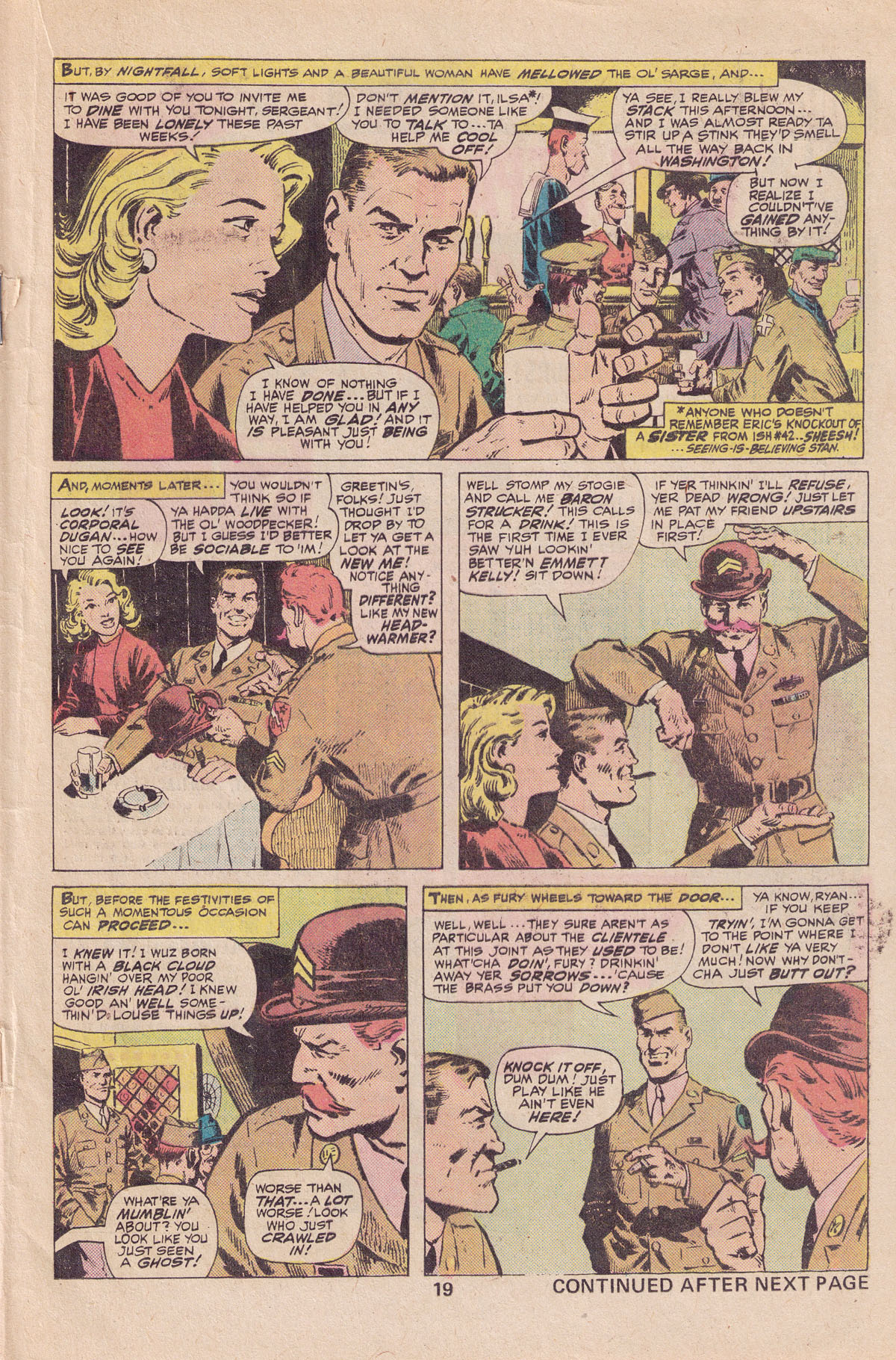 Read online Sgt. Fury comic -  Issue #140 - 21