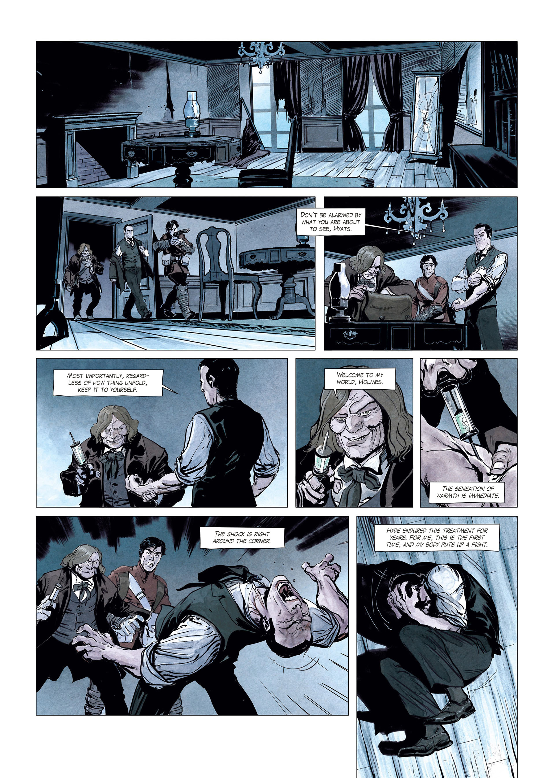 Read online Sherlock Holmes Society Tome 4 : Contamination comic -  Issue # Full - 31