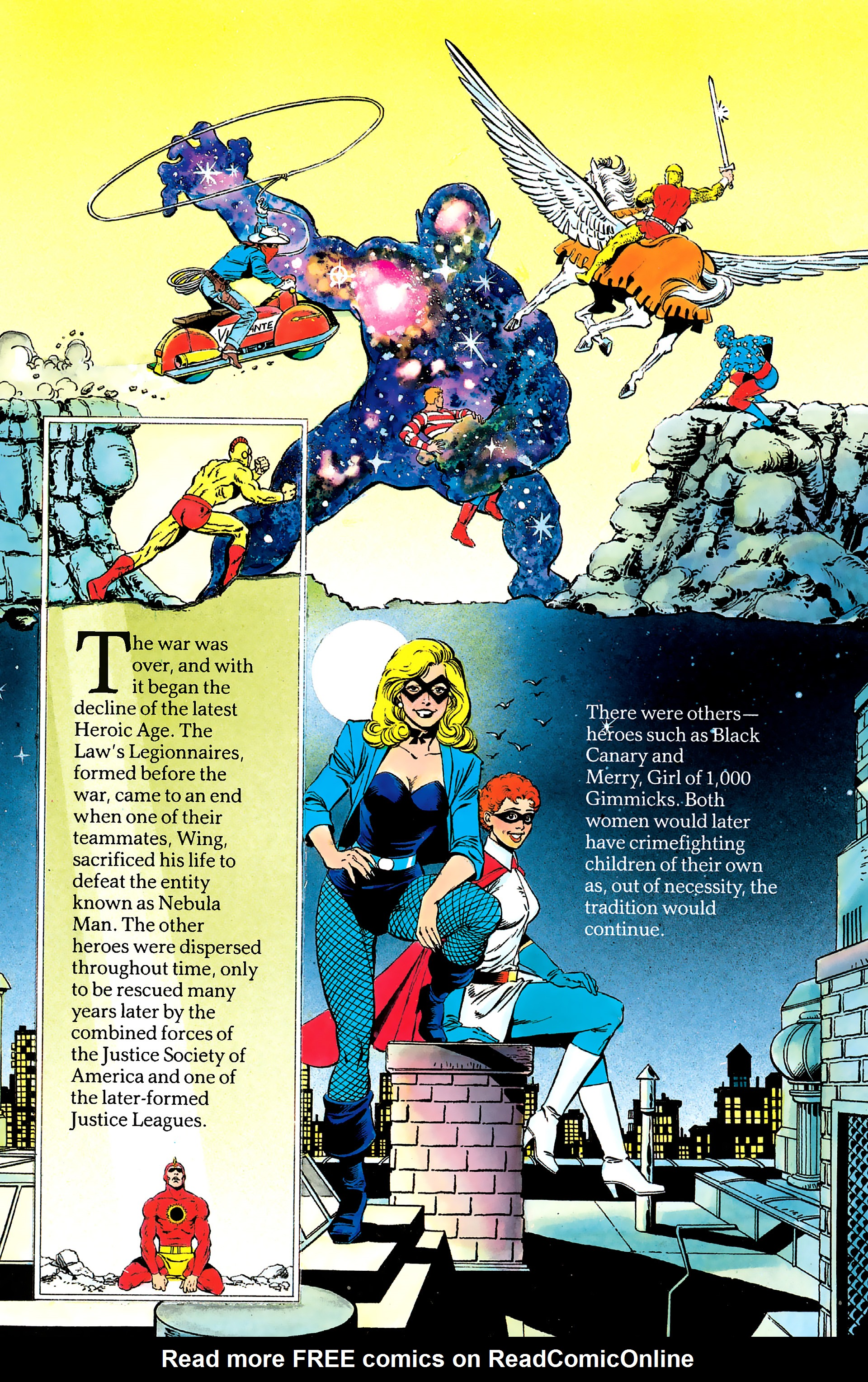 Read online History of the DC Universe comic -  Issue #2 - 9