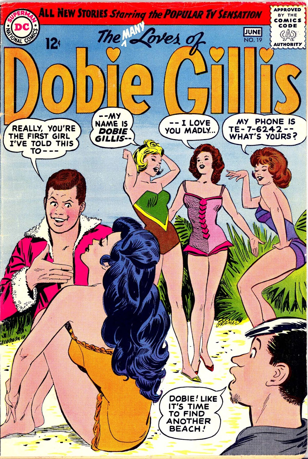 Many Loves of Dobie Gillis issue 19 - Page 1