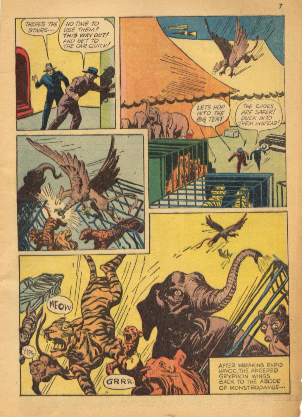 Read online Shadow Comics comic -  Issue #32 - 8