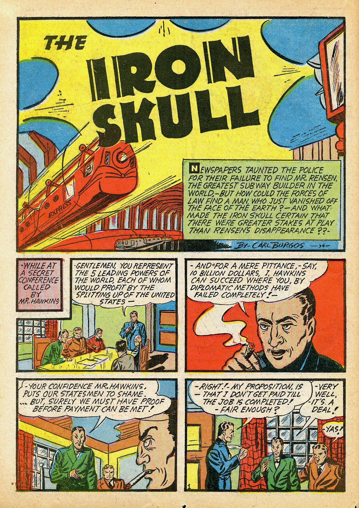Read online Amazing Man Comics comic -  Issue #10 - 27